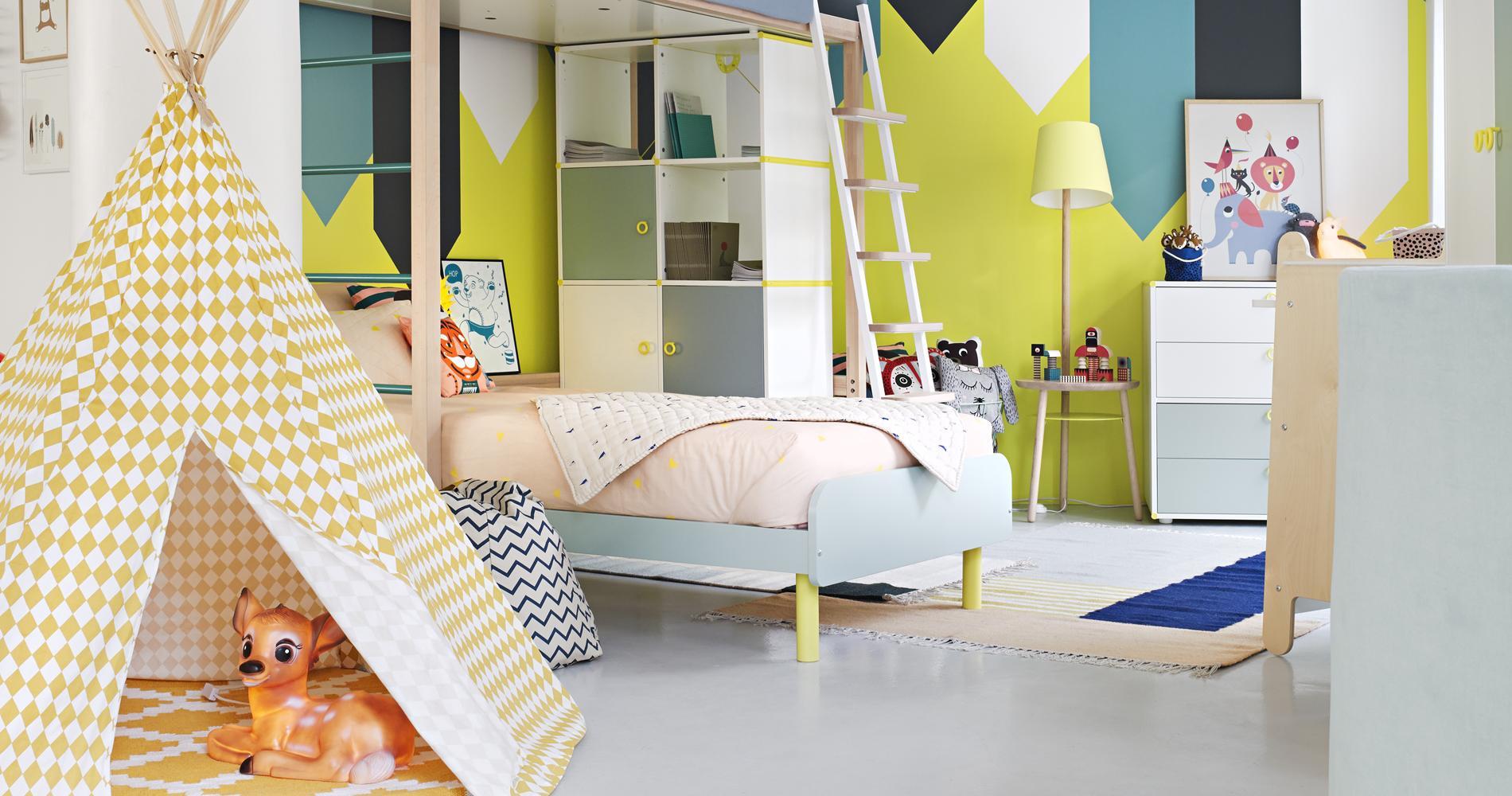 non content dtre de plus en plus design et co friendly le mobilier enfant gagne aussi en modularit