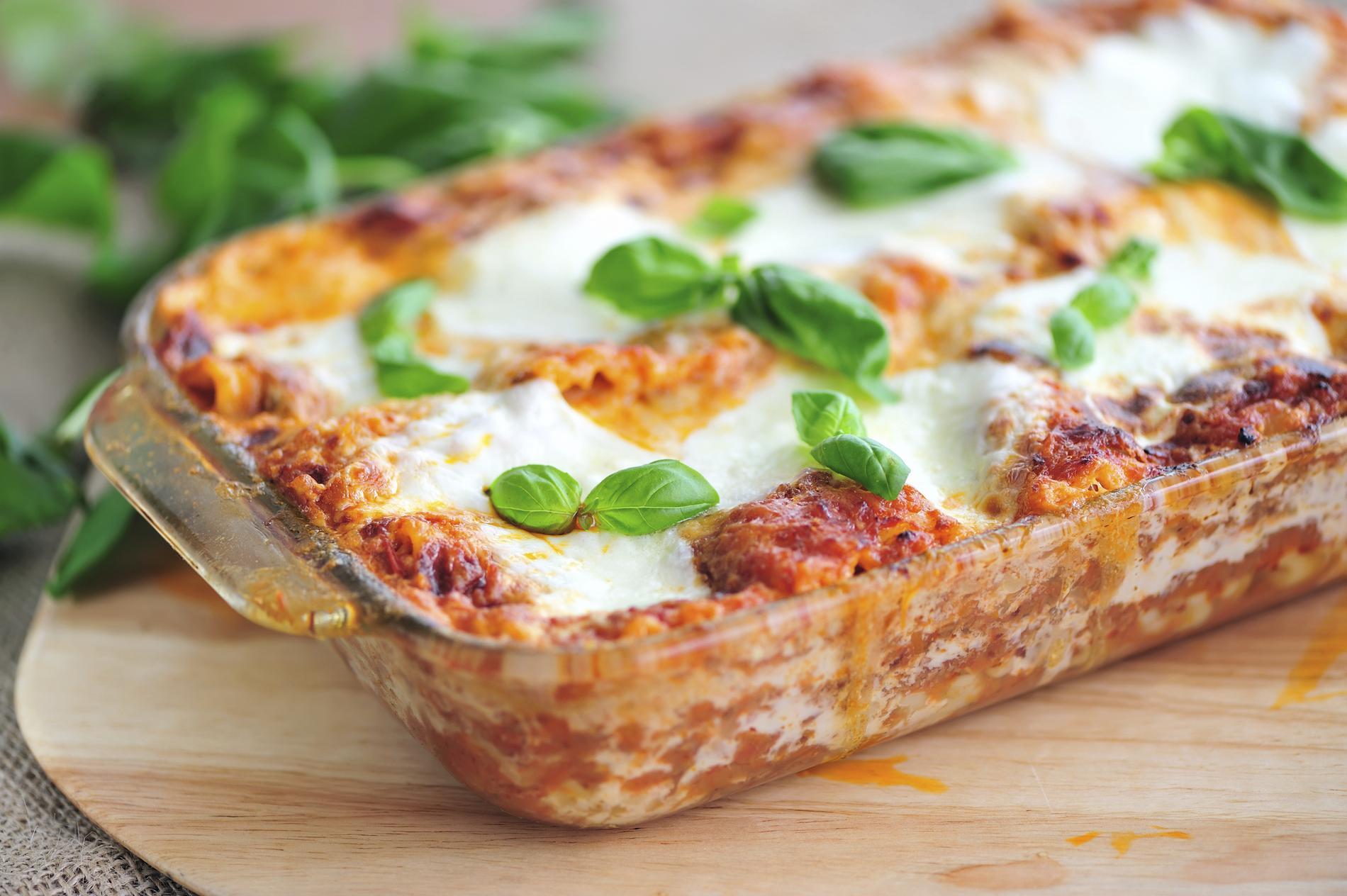 Recettes lasagnes recettes faciles et rapides cuisine - Lasagne facile et rapide ...