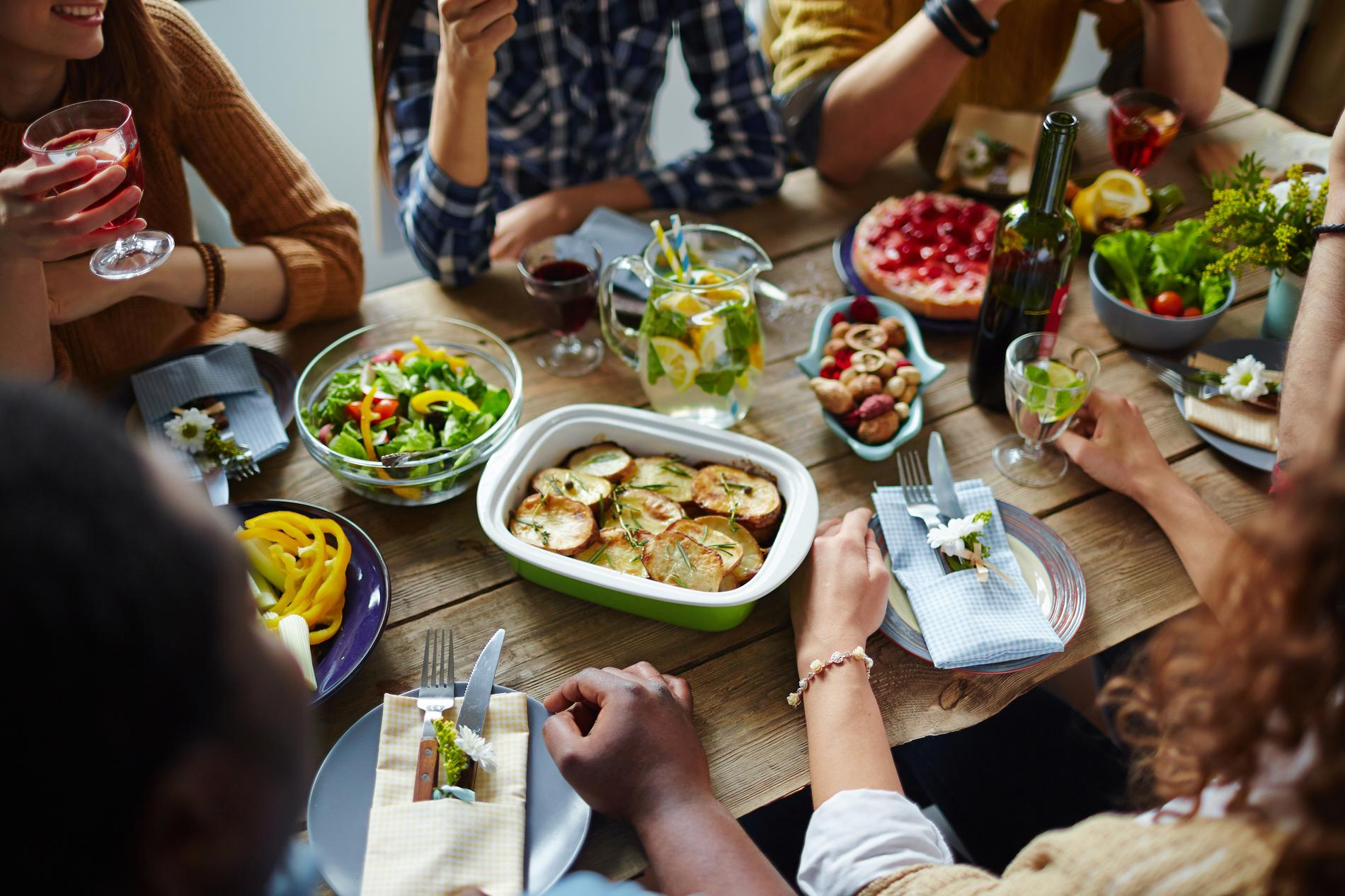 Recettes entre amis recettes faciles et rapides - Idee menu pour soiree beaujolais ...