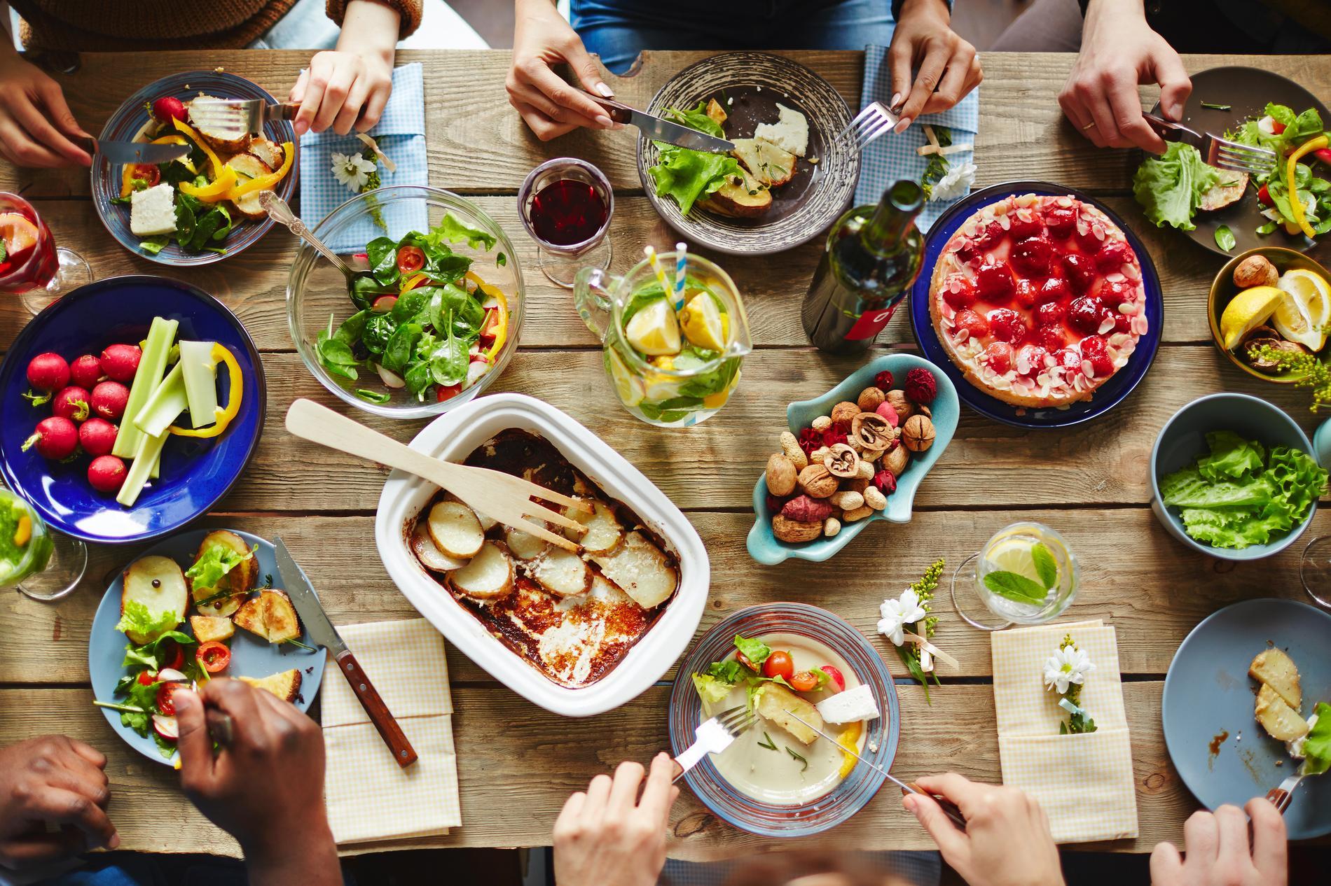 Idee repas noel grande famille