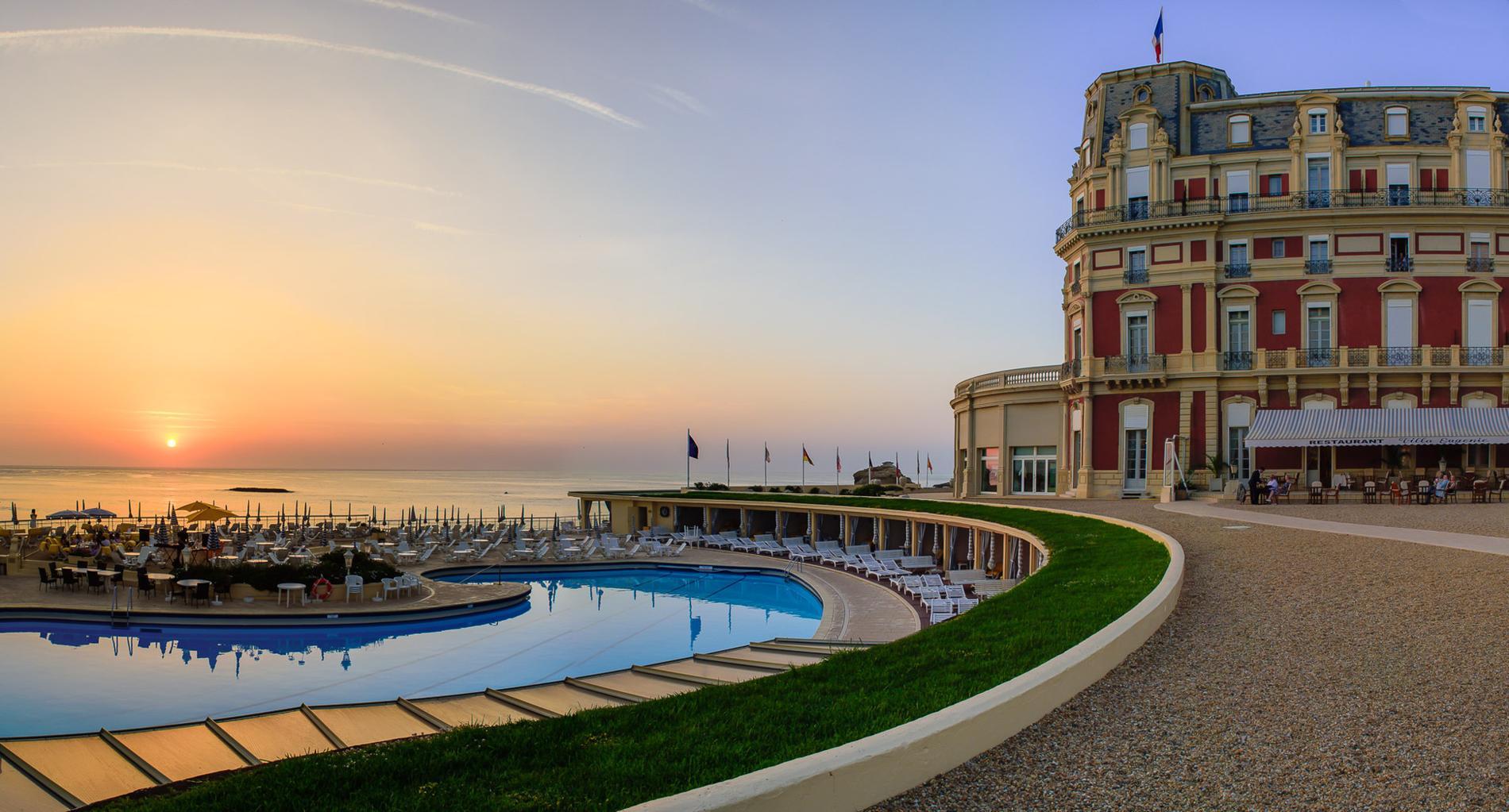Kate middleton et sa famille ont pass une nuit l h tel for Prix chambre hotel du palais biarritz