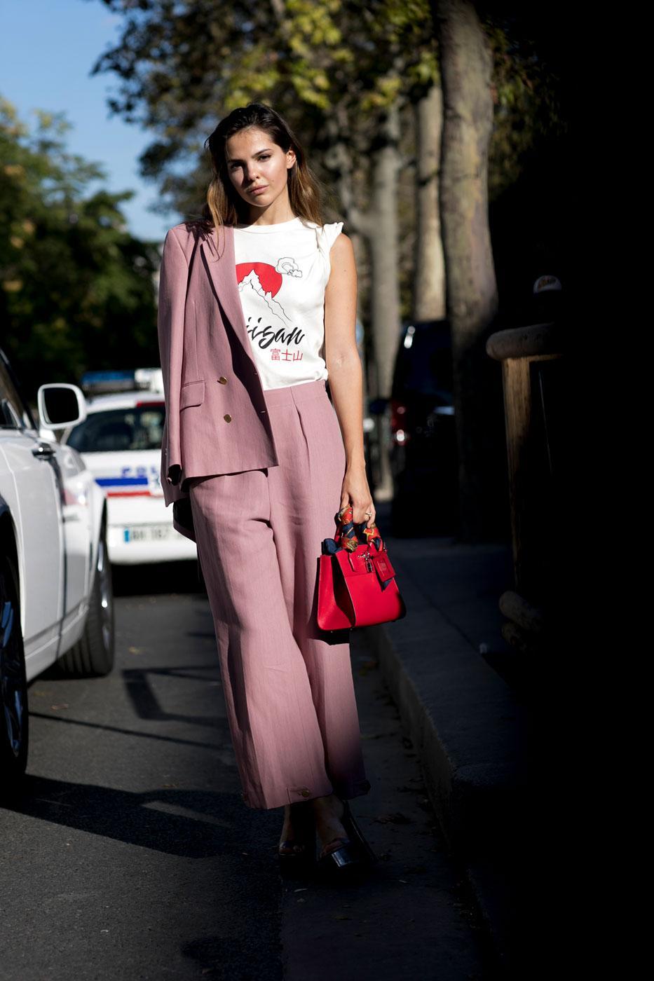 Street style 50 nuances d 39 automne la fashion week de paris madame figaro Style fashion week in la