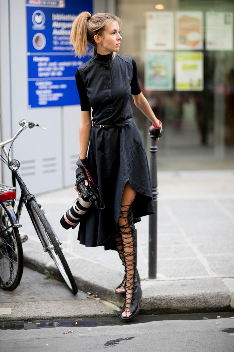 Street Style 50 Nuances D 39 Automne La Fashion Week De Paris Madame Figaro