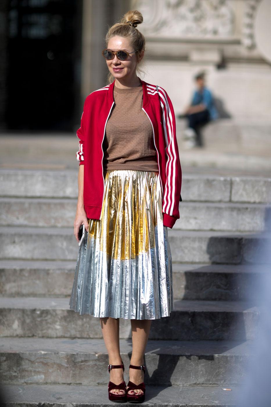 Street Style 50 Nuances D 39 Automne La Fashion Week De