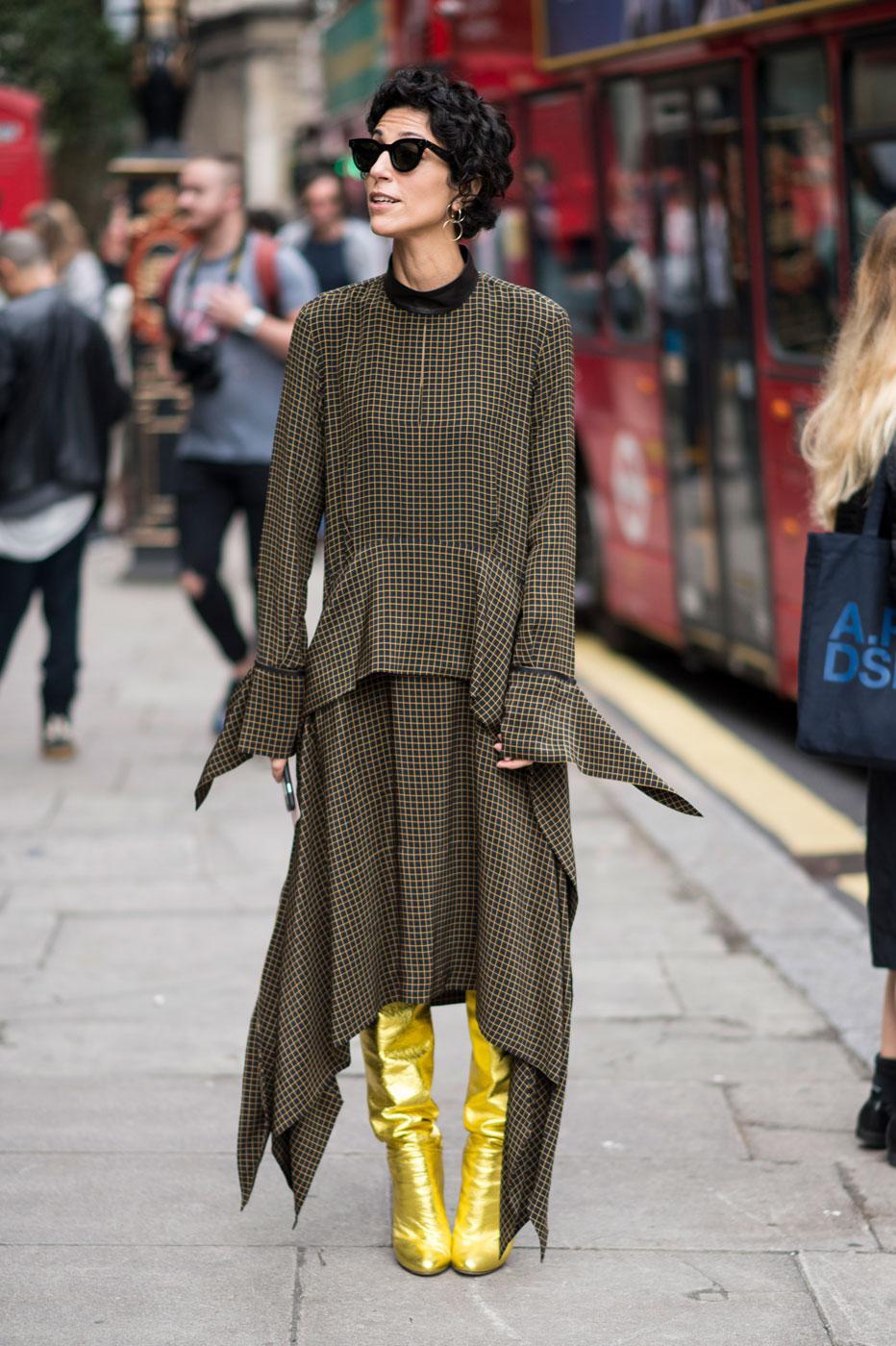 Fashion week le meilleur du street style londonien madame figaro Style fashion week in la