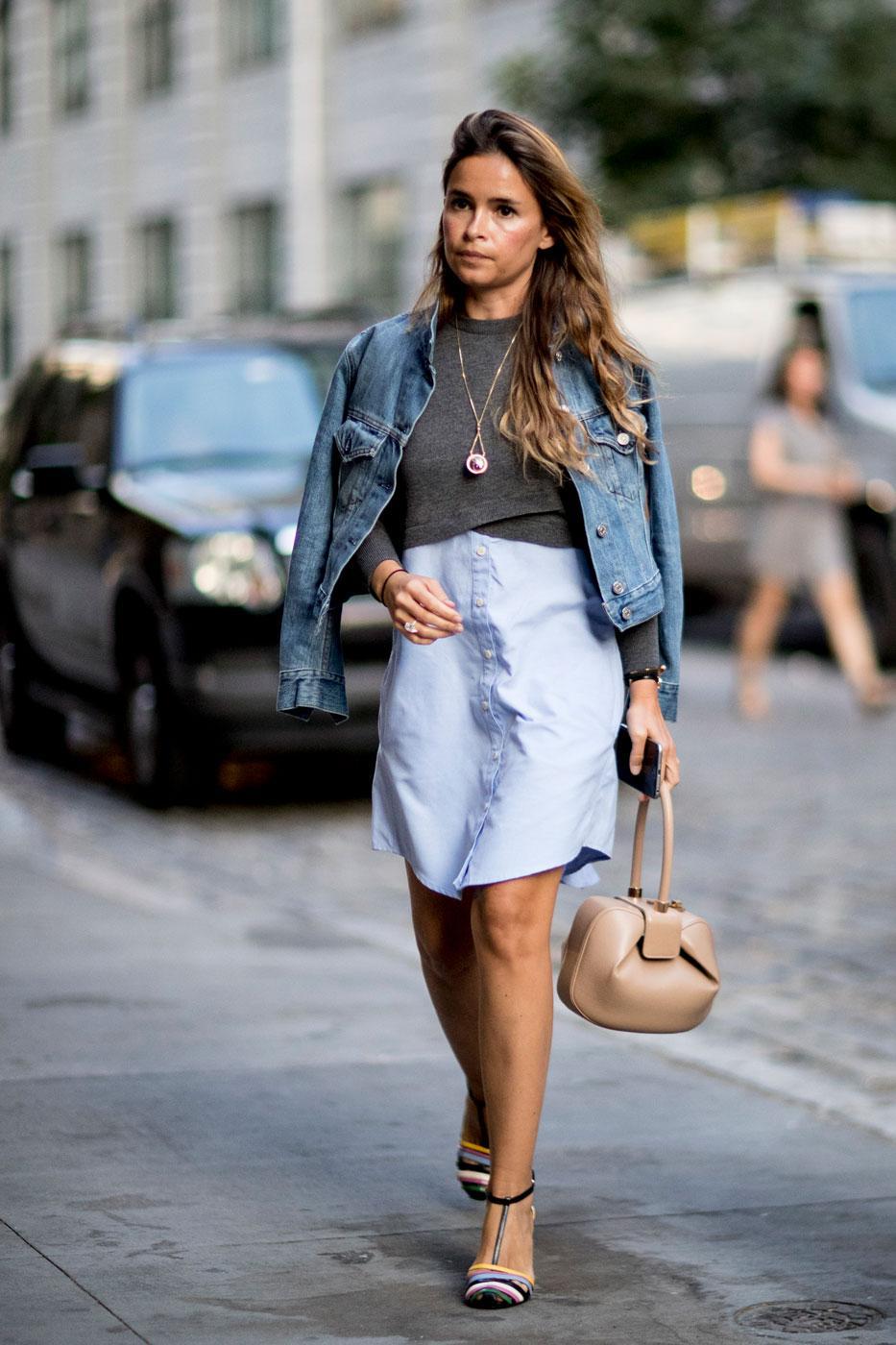 Fashion week le meilleur du street style new yorkais Style fashion week in la