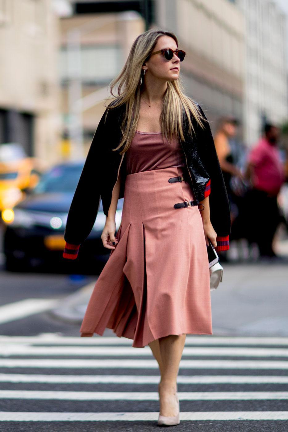Fashion Week Le Meilleur Du Street Style New Yorkais
