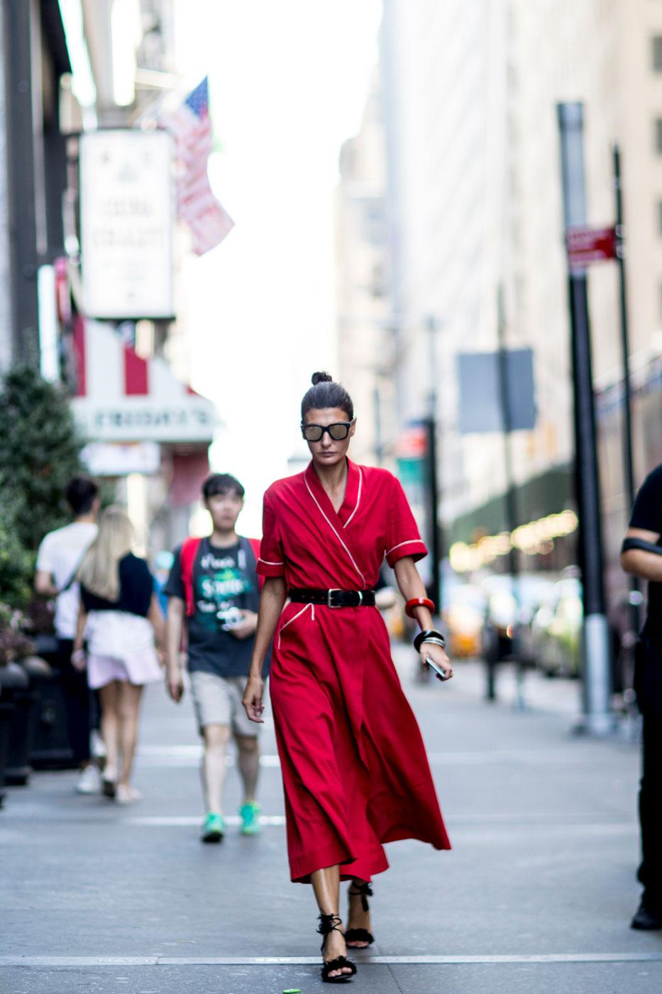 Fashion Week Le Meilleur Du Street Style New Yorkais Madame Figaro