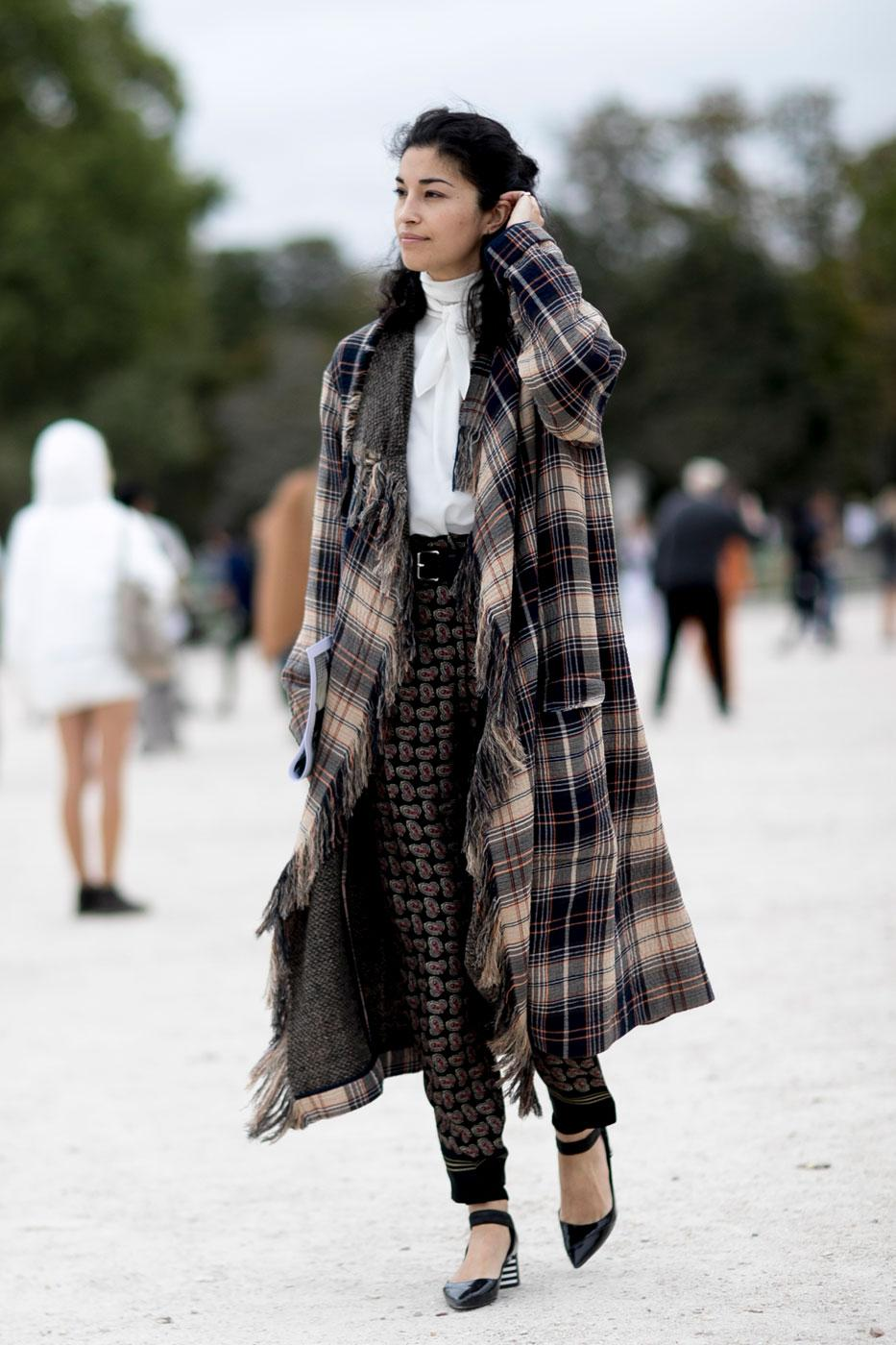 Street Style 50 Nuances D 39 Automne La Fashion Week De
