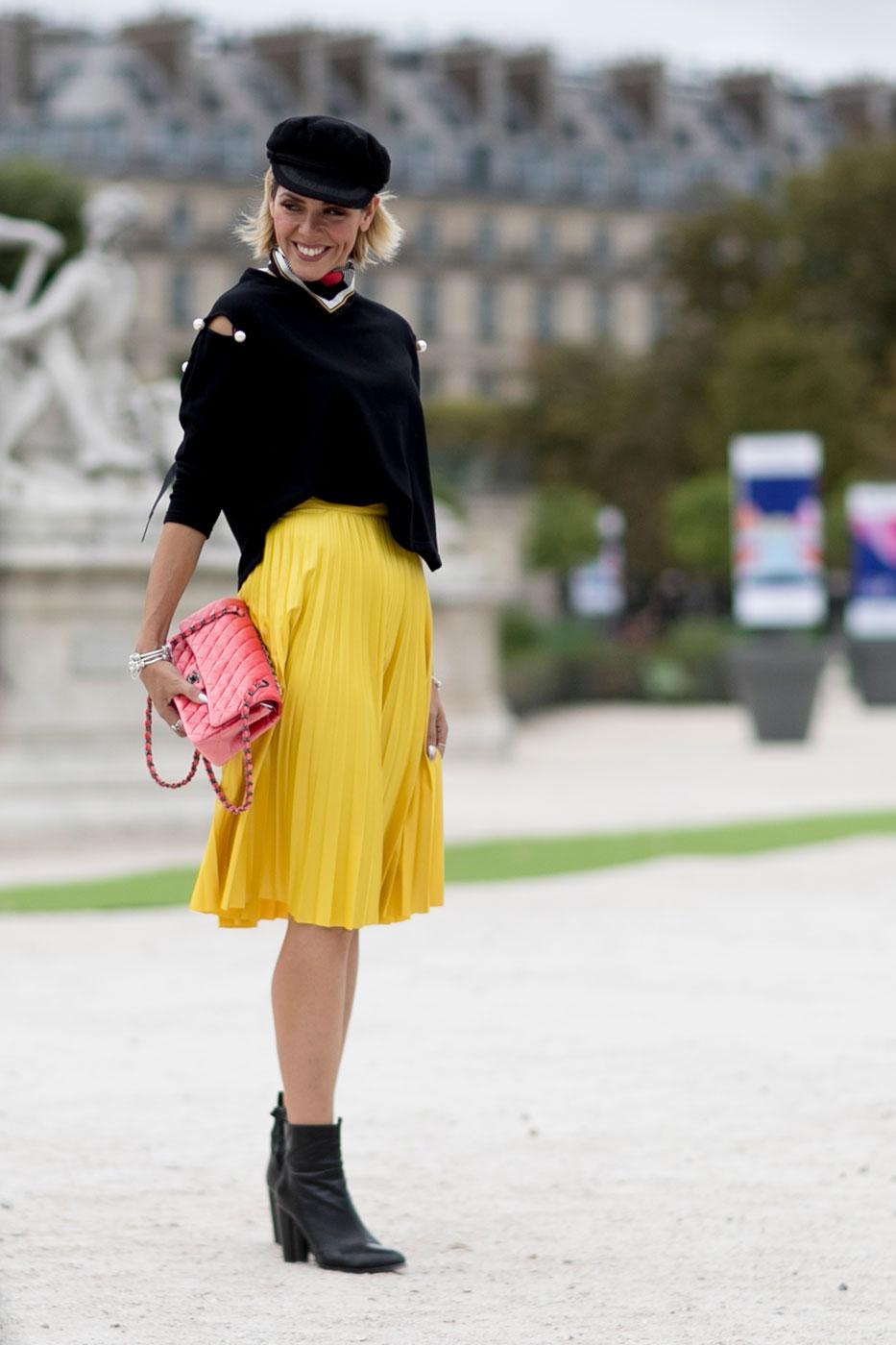 Street Style 50 Nuances D 39 Automne La Fashion Week De Paris