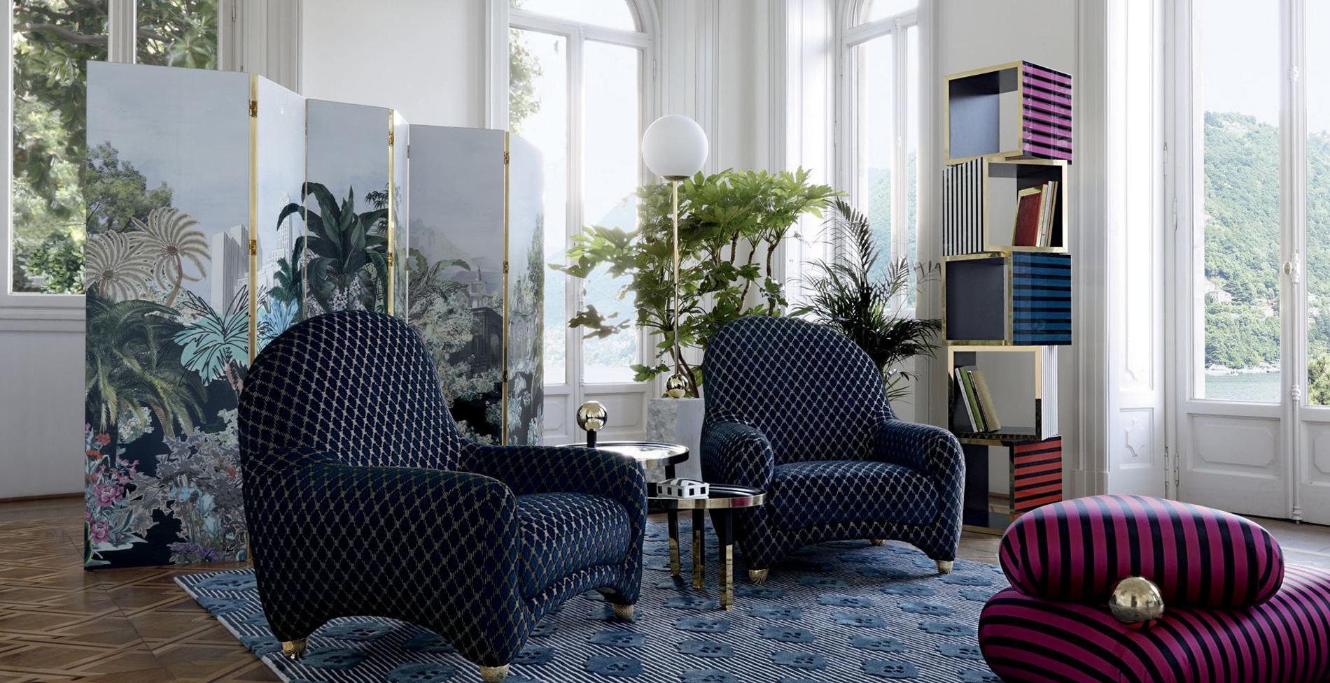Design Christian Lacroix Maison Pour Roche Bobois, Collection Nouveaux  Classiques.