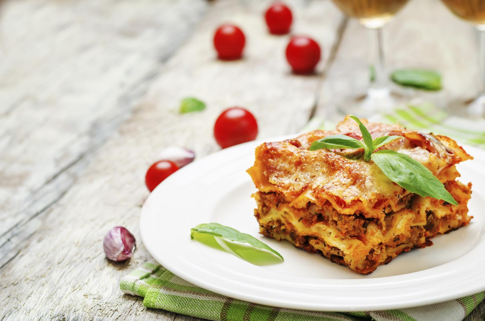 Recette Lasagnes Onctueuses Et Allegees Cuisine Madame Figaro