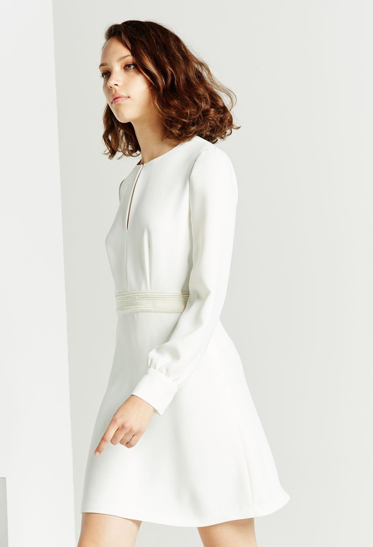 Robe de mariee hiver mairie