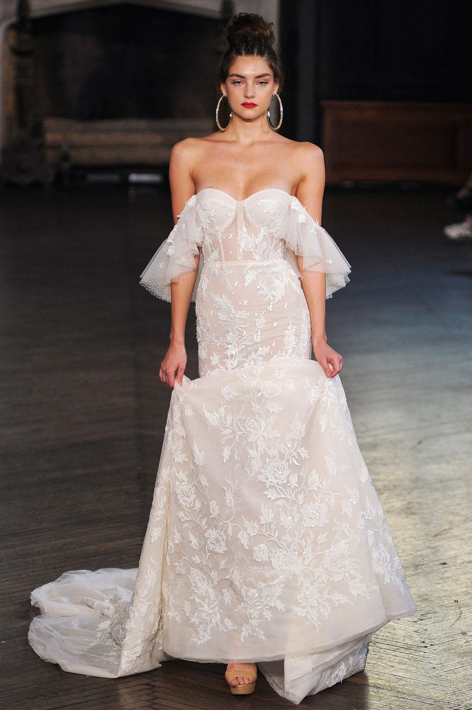 Robe de mariée  les tendances repérées à la Bridal Week de New York ,  Berta