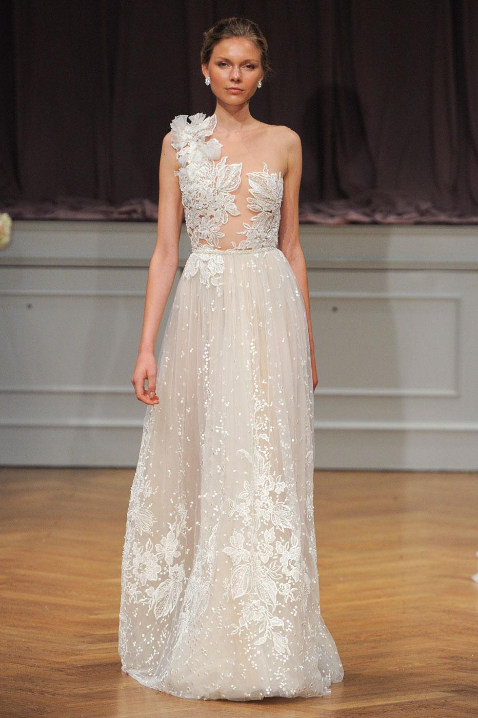 Robe de mariée  les tendances repérées à la Bridal Week de New York , Avon Livne White
