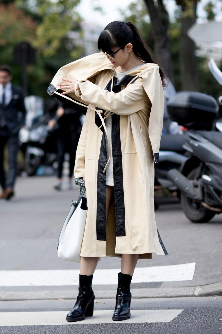 Street style 50 nuances d 39 automne la fashion week de paris Style fashion week in la