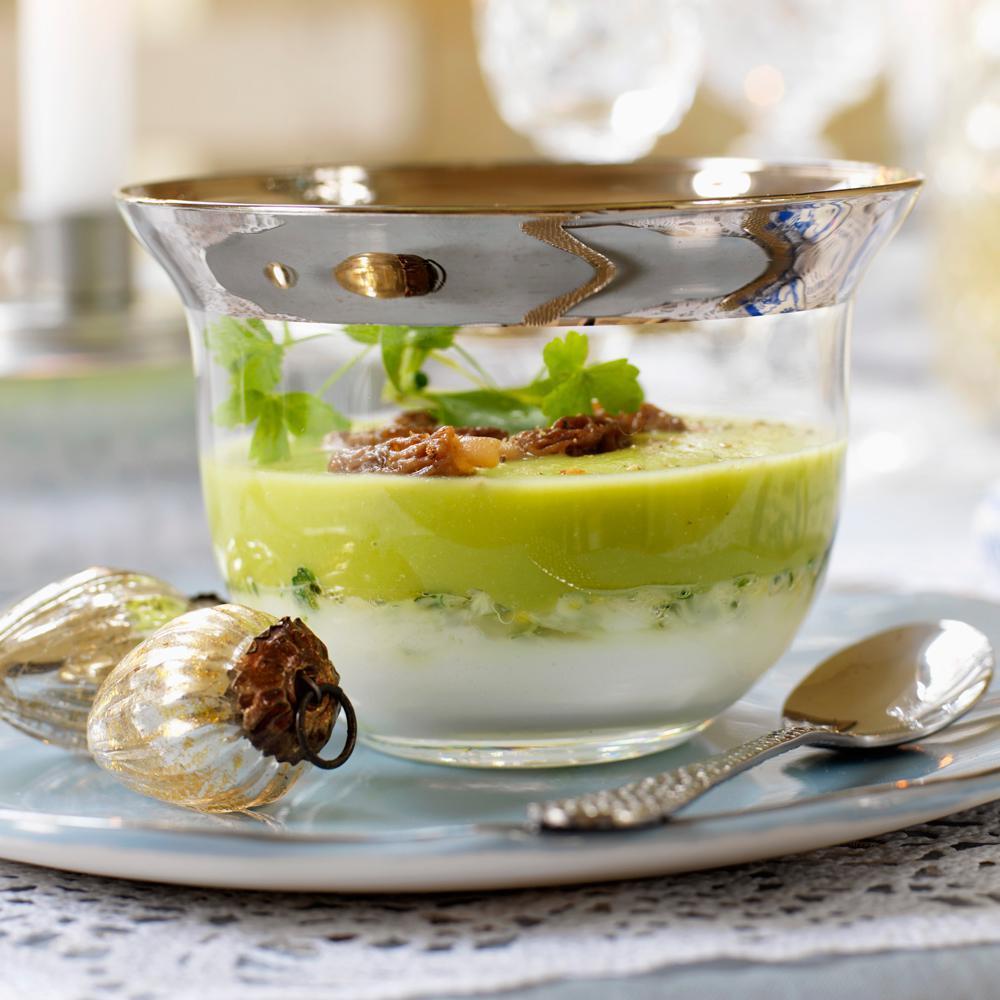 Nos plus belles id es recettes de verrines sal es pour for Entree facile pour noel