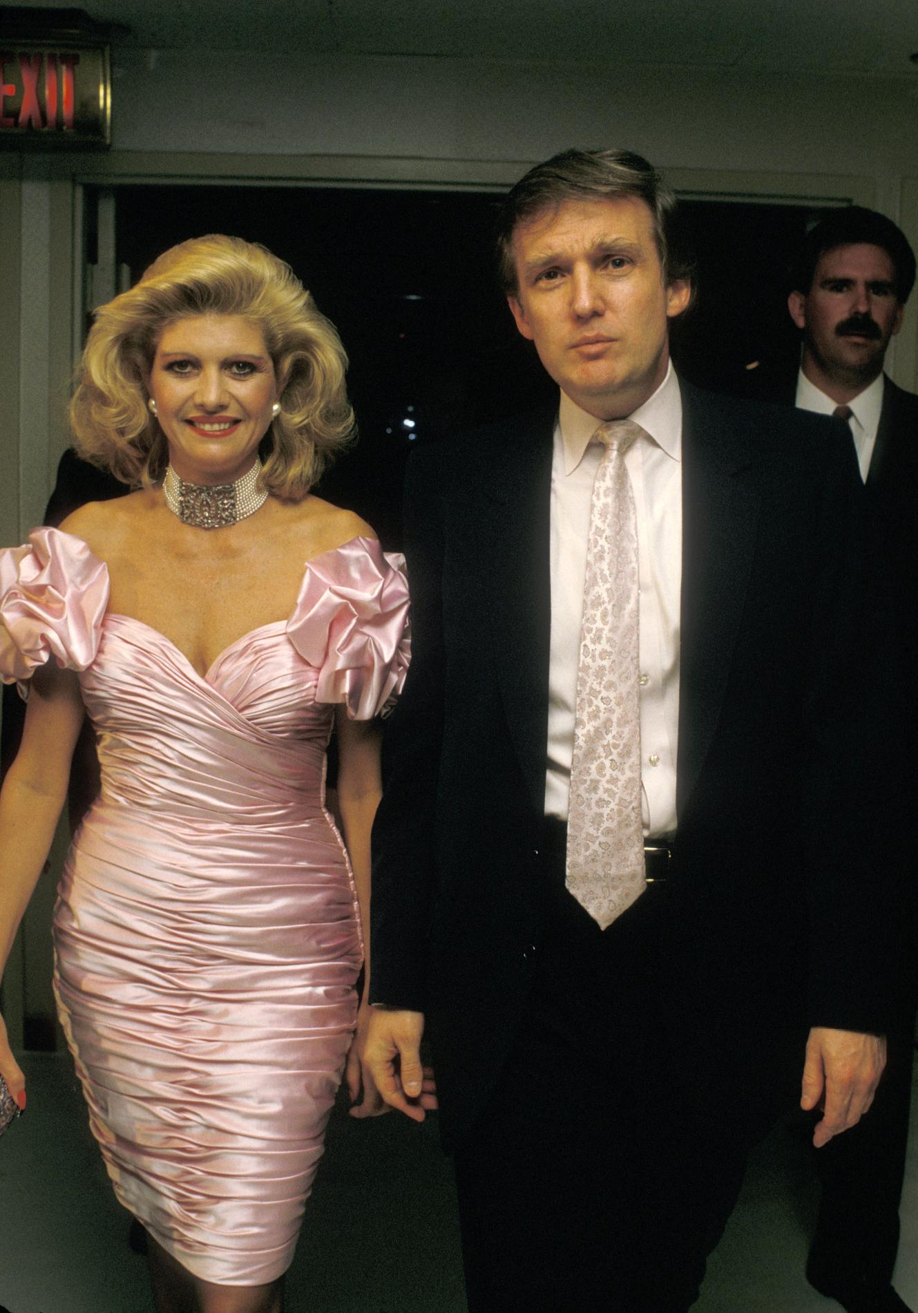 Ivana Trump, première femme de Donald Trump et icône de la jet-set