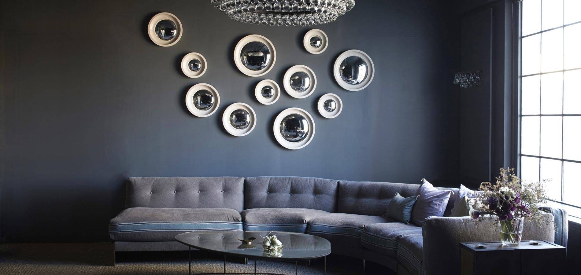 Comment bien utiliser le miroir en d co madame figaro for Decoration miroir mur