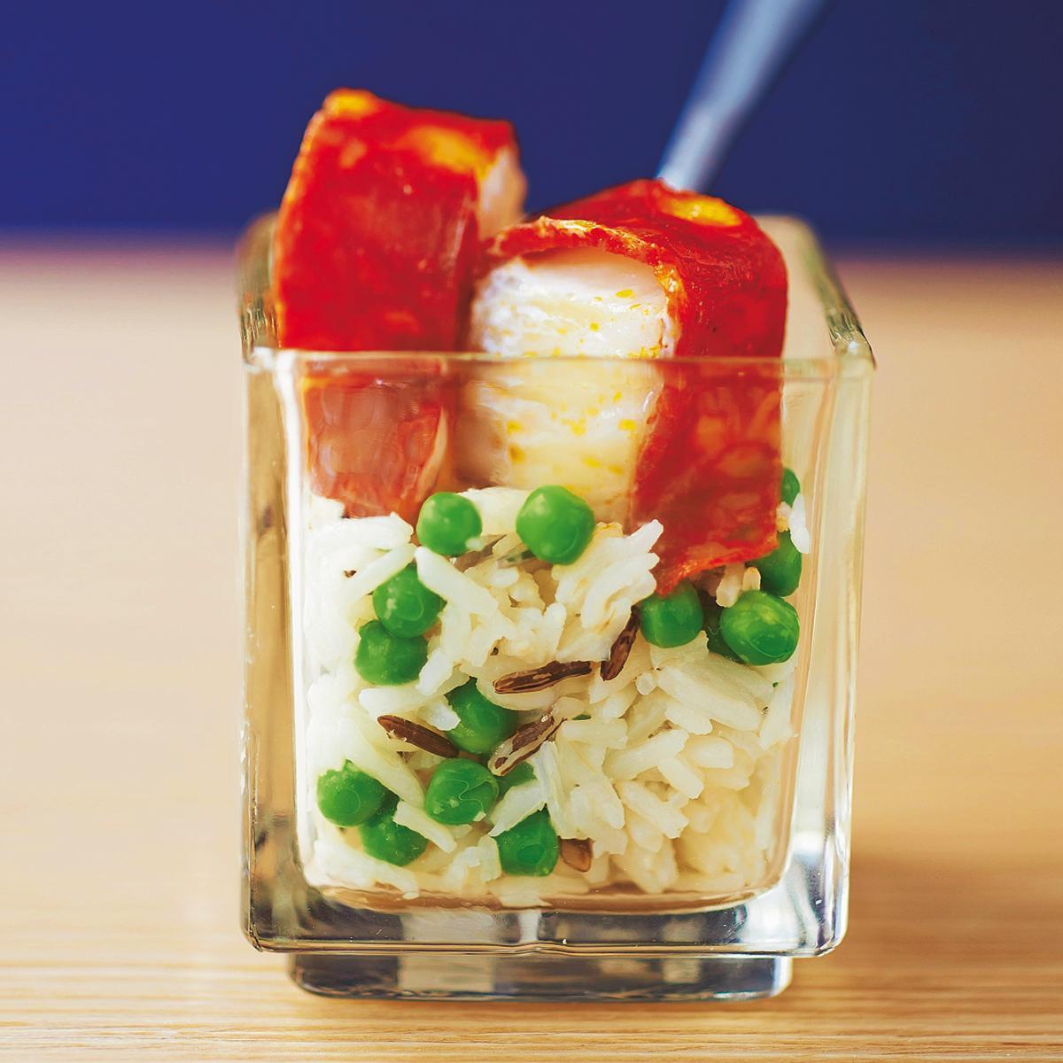 Nos plus belles id es recettes de verrines sal es pour briller l 39 ap ro no l cuisine - Verrine pour noel ...