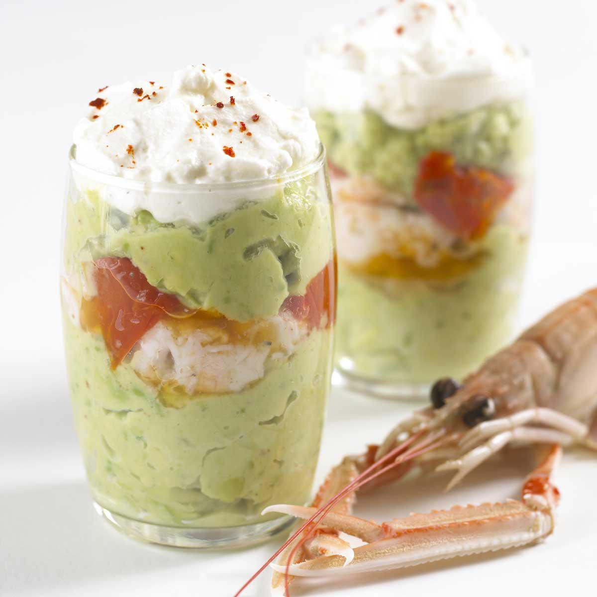 No l nos plus belles recettes de verrines sal es pour - Verrine pour noel ...