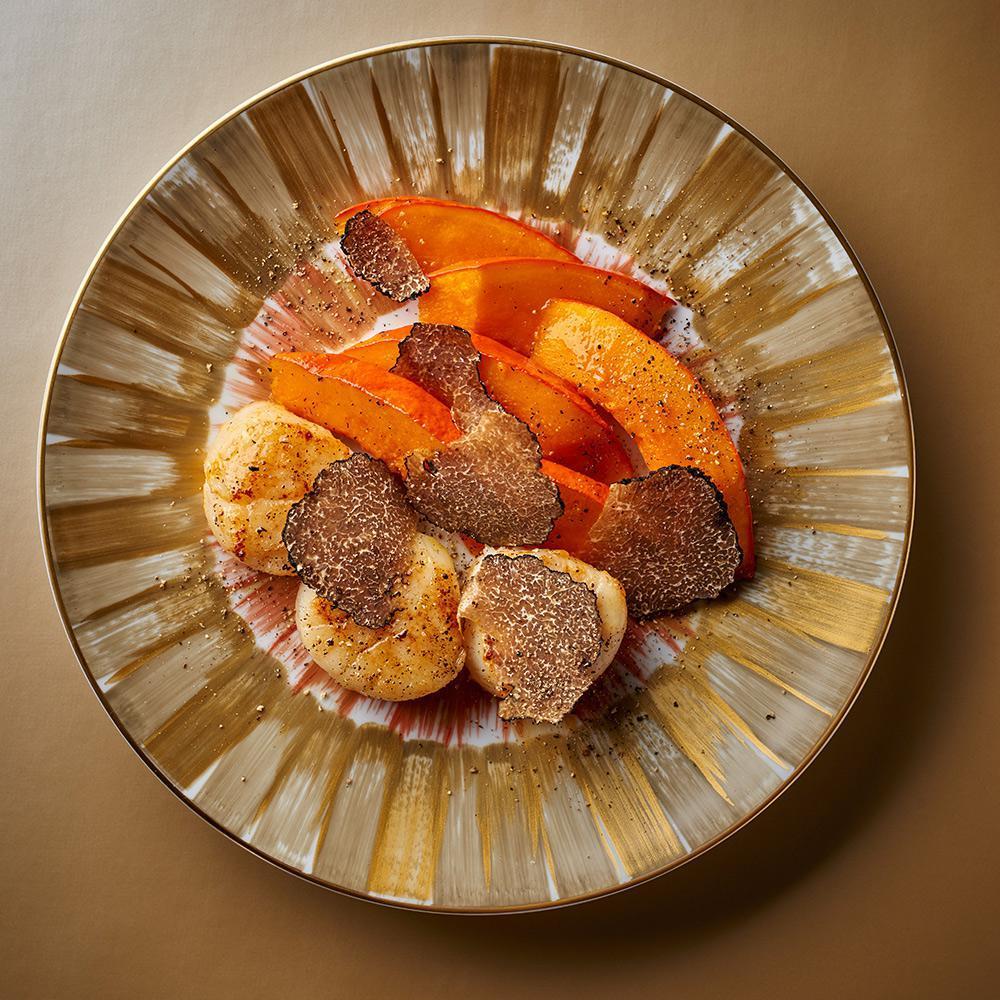 burrata aux truffes
