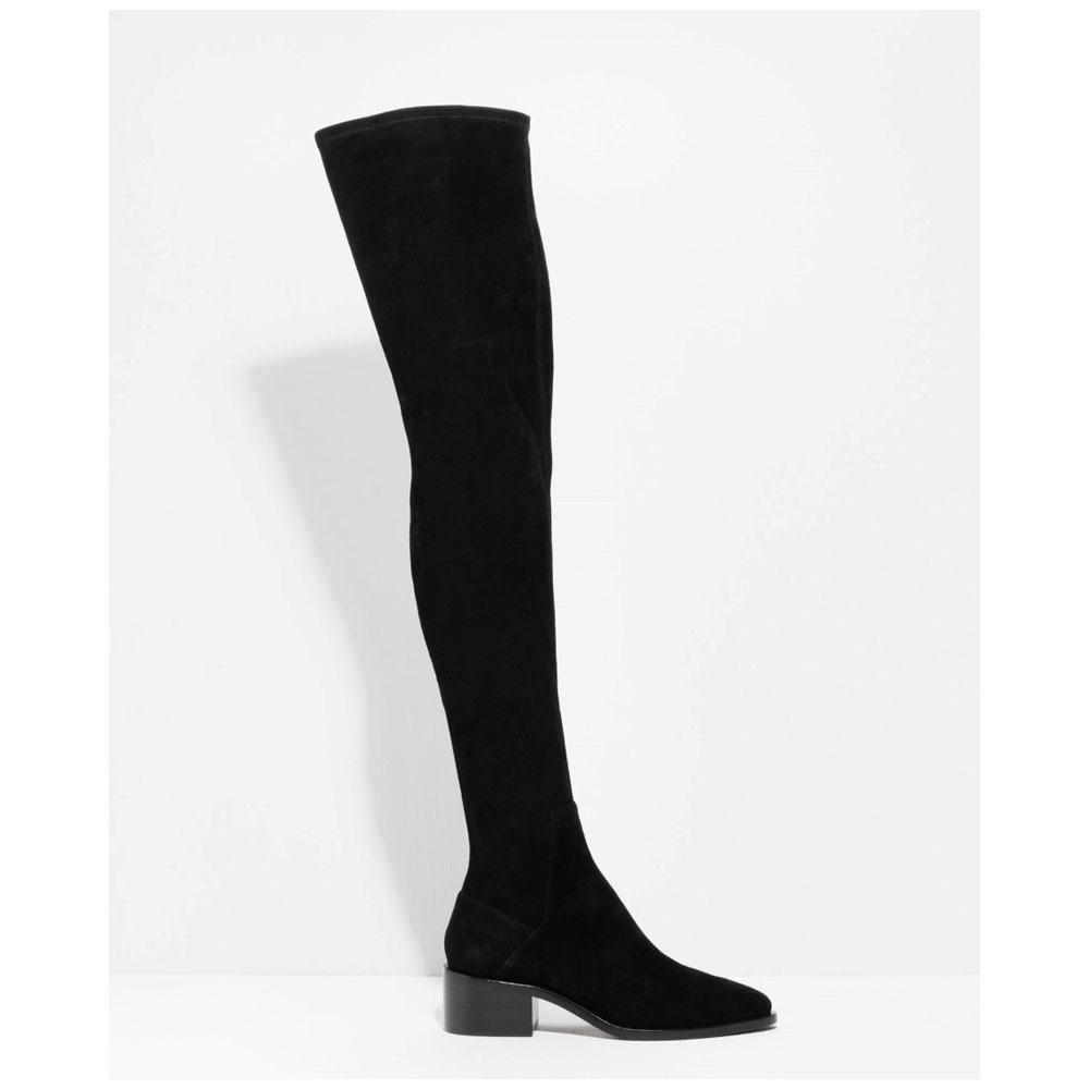 bottes et cuissardes l accessoire mode de l hiver madame figaro. Black Bedroom Furniture Sets. Home Design Ideas