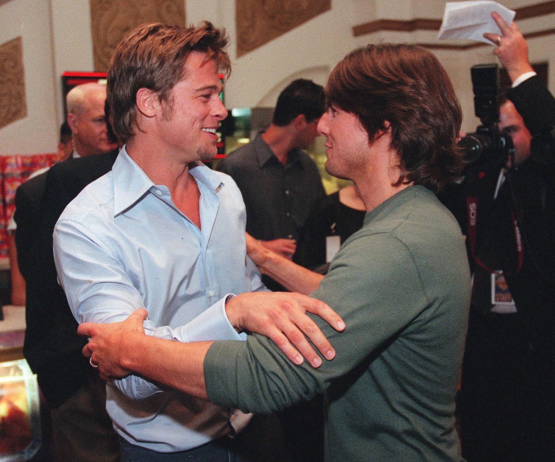 Brad Pitt et Tom Cruis...
