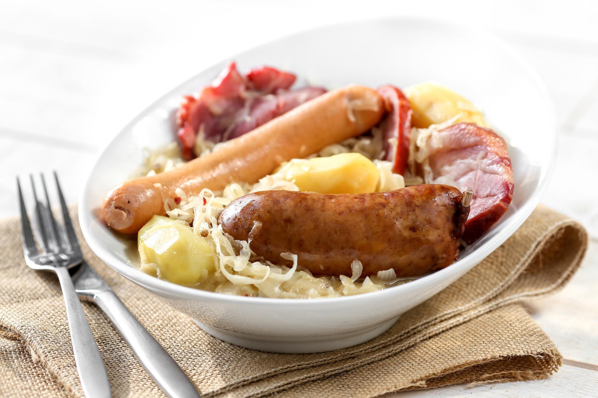 Plat choucroute recettes faciles et rapides cuisine for Plat facile et rapide