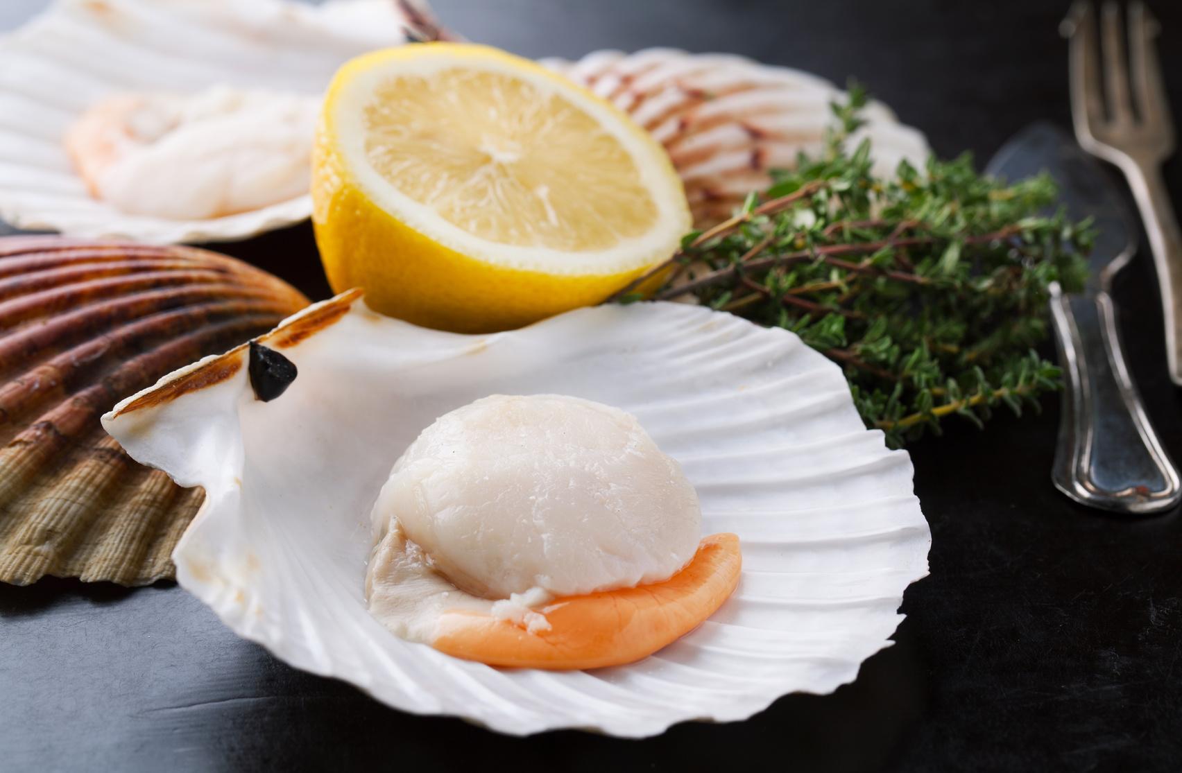 Recettes coquille saint jacques cuisine madame figaro - Coquille saint jacques maison ...