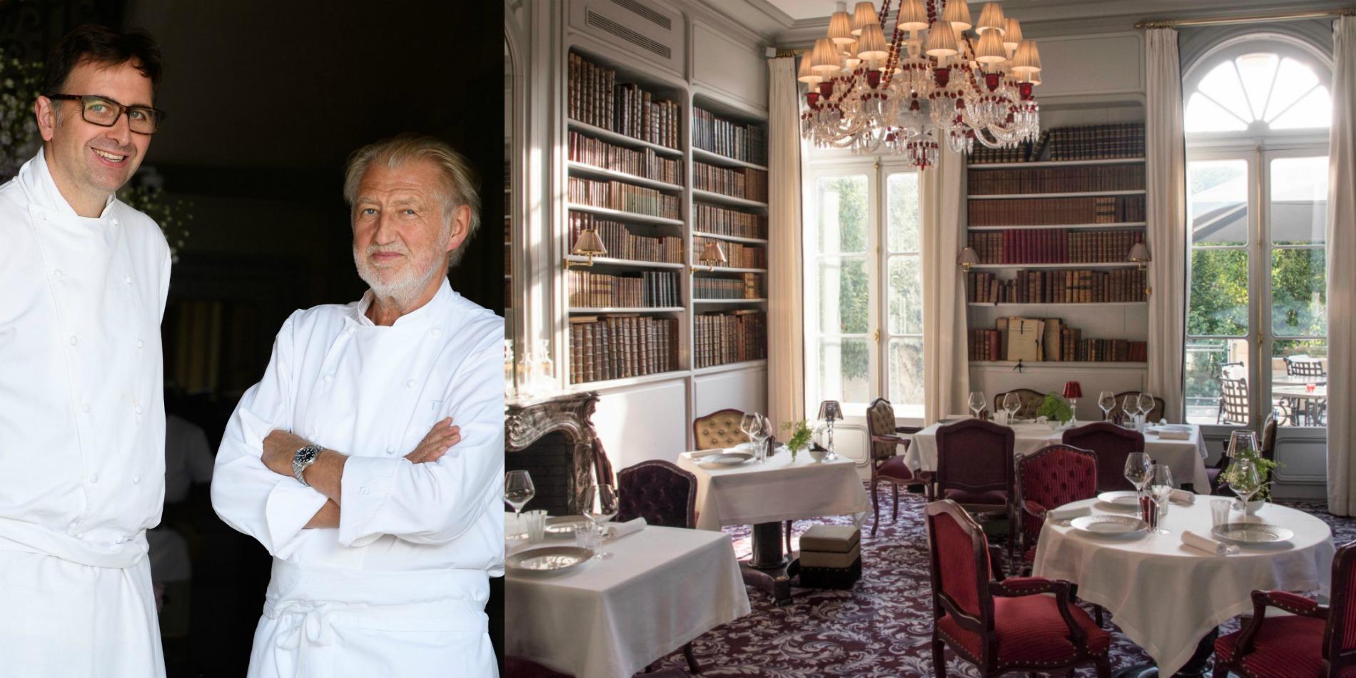Pierre gagnaire la grande maison bordeaux cuisine for Decoration maison bordeaux