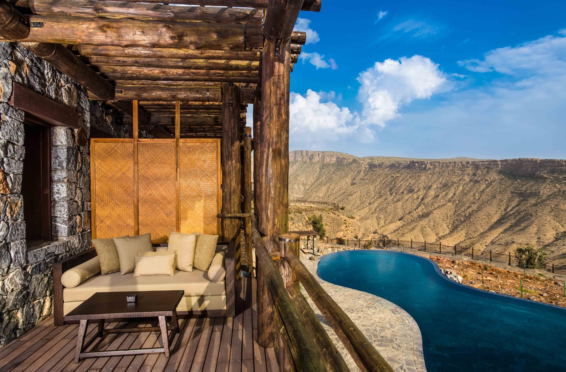 hôtel de luxe oman