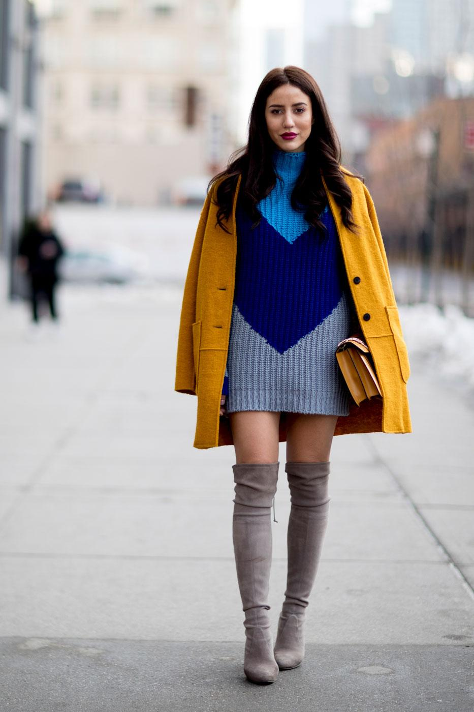 Fashion week le style des modeuses new yorkaises l - Style hiver 2017 ...