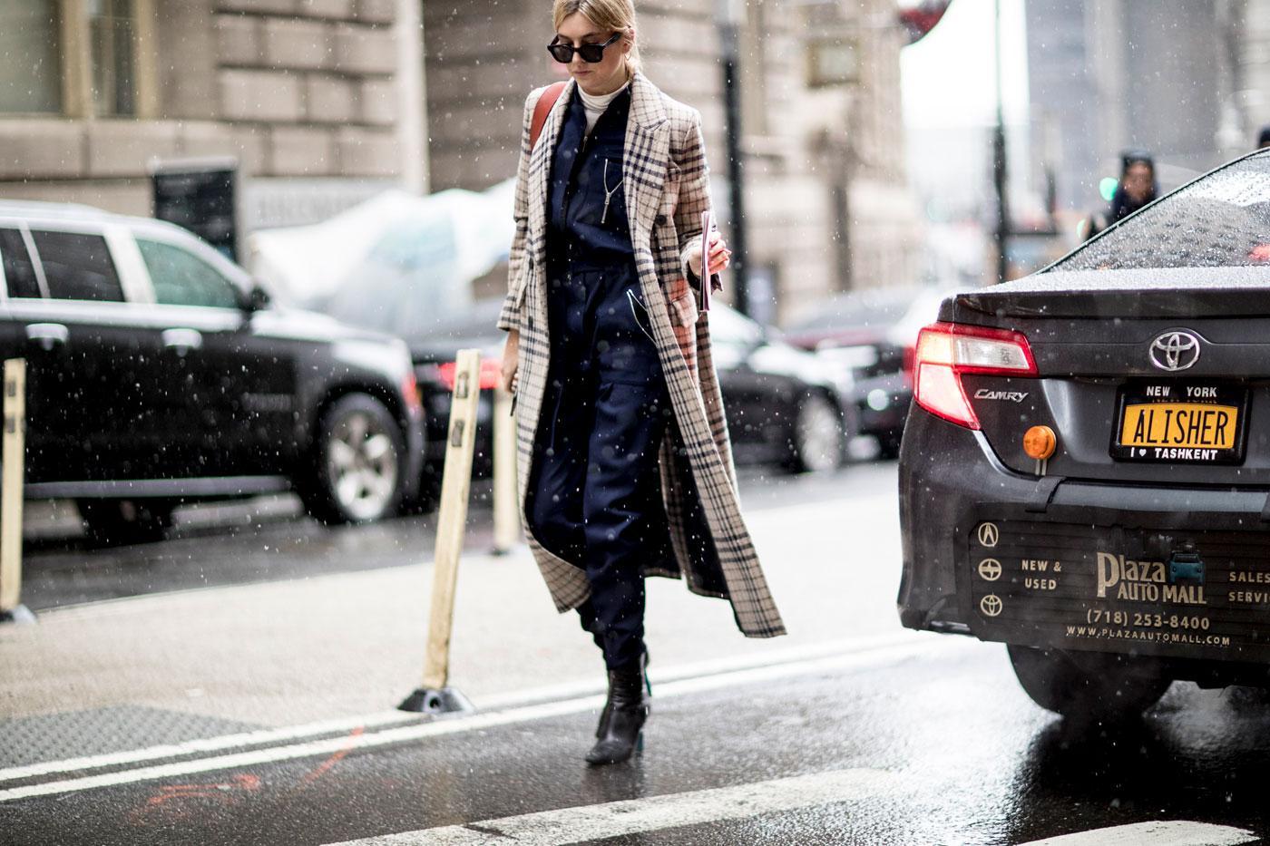 fashion week le style des modeuses new yorkaises l 39 preuve. Black Bedroom Furniture Sets. Home Design Ideas