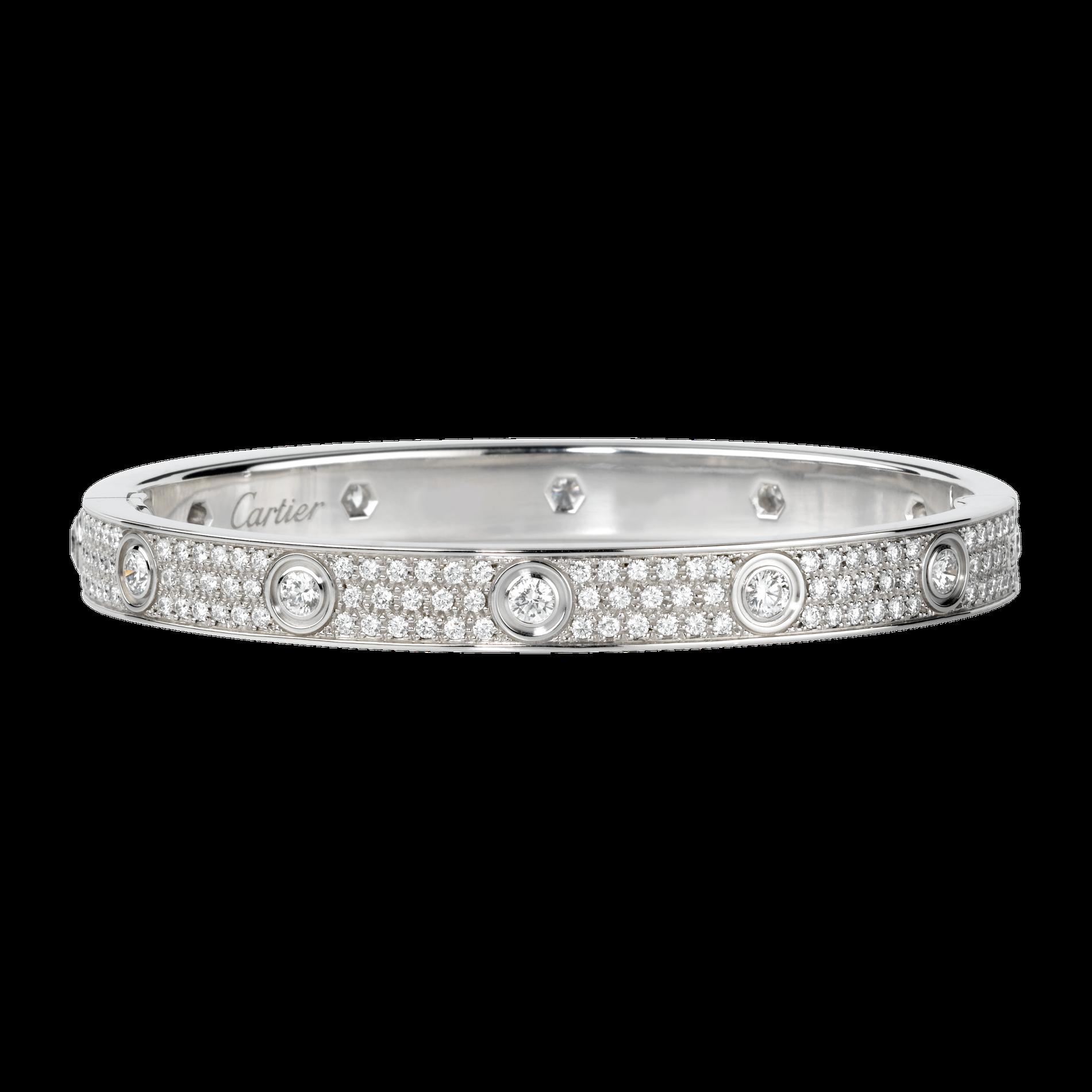 L\u0027histoire du bracelet Love de Cartier , le bracelet à 58 000 \u20ac