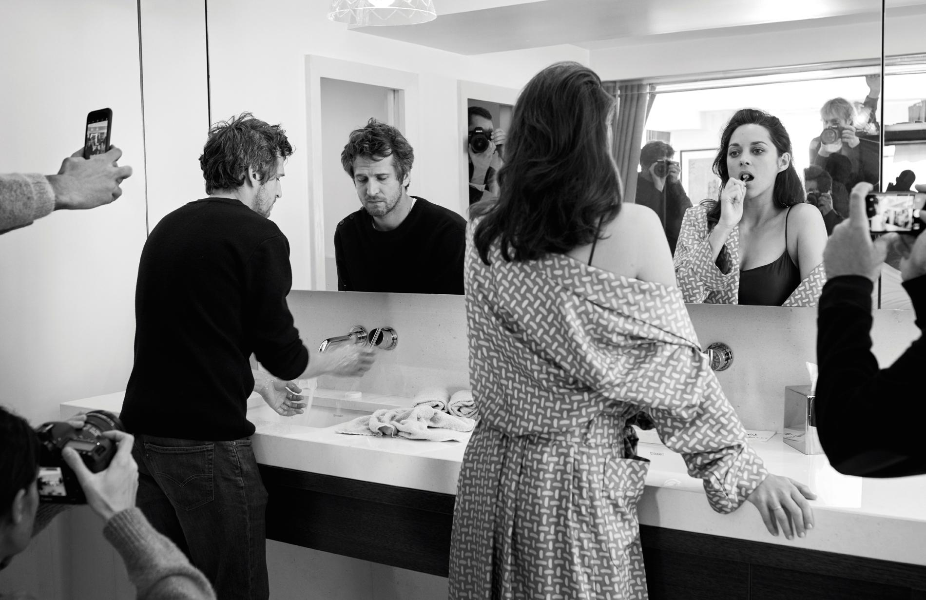 Photo Jean-Baptiste Mondino Marion Cotillard & Guillaume Canet mis en scène par Jean-Baptiste Mondino.