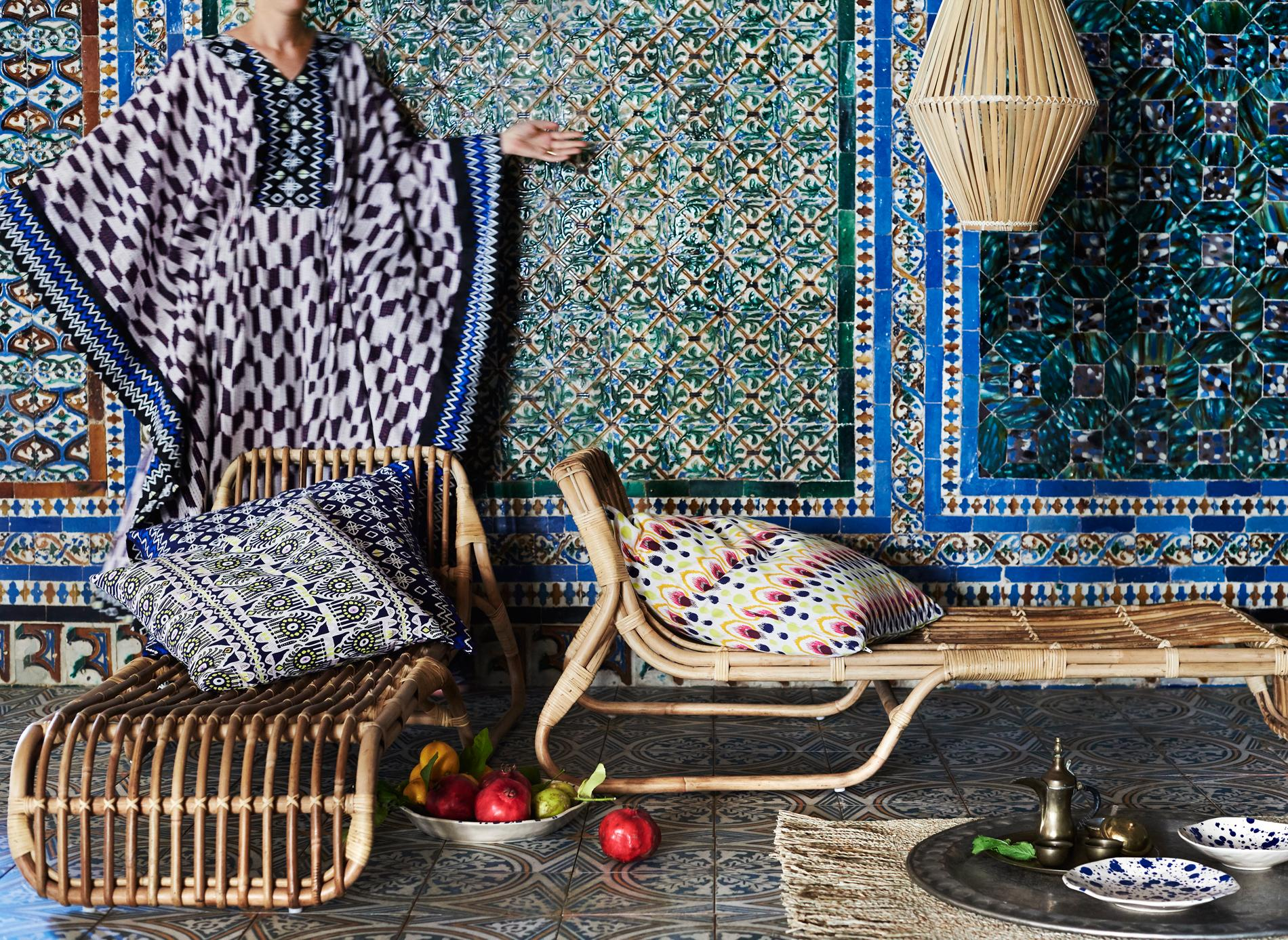 le rotin fait son grand retour chez ikea madame figaro. Black Bedroom Furniture Sets. Home Design Ideas