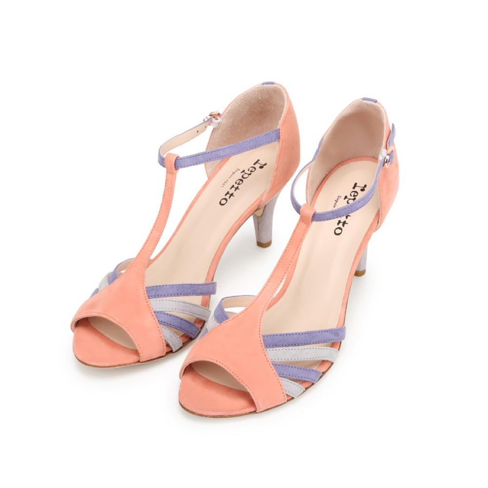 Des chaussures colorées pour égayer la tenue de la mariée , Repetto