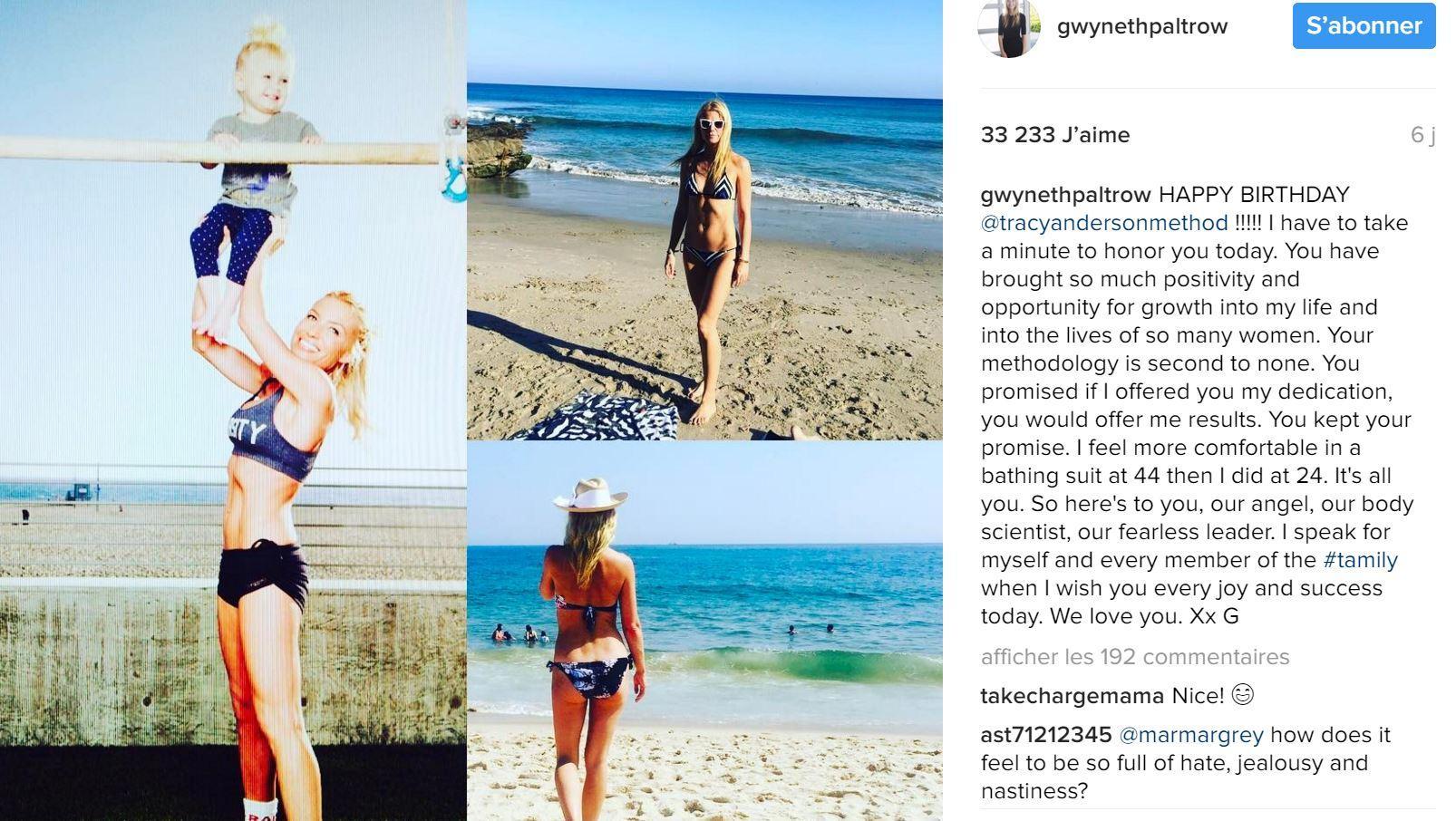 Les trois exercices de Gwyneth Paltrow pour muscler ses abdos ... dd98491d2b7
