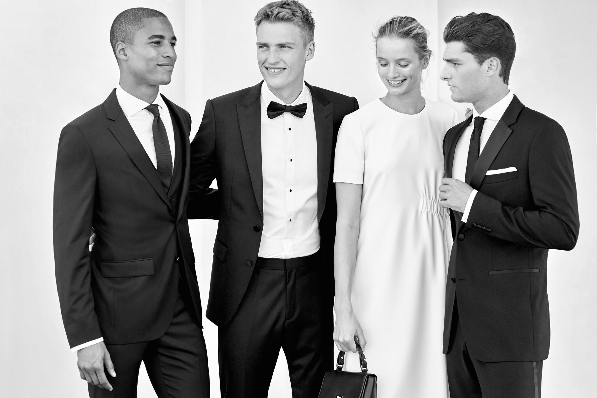 Hugo Boss dévoile une collection mariage - Madame Figaro e3b70ab2beb2