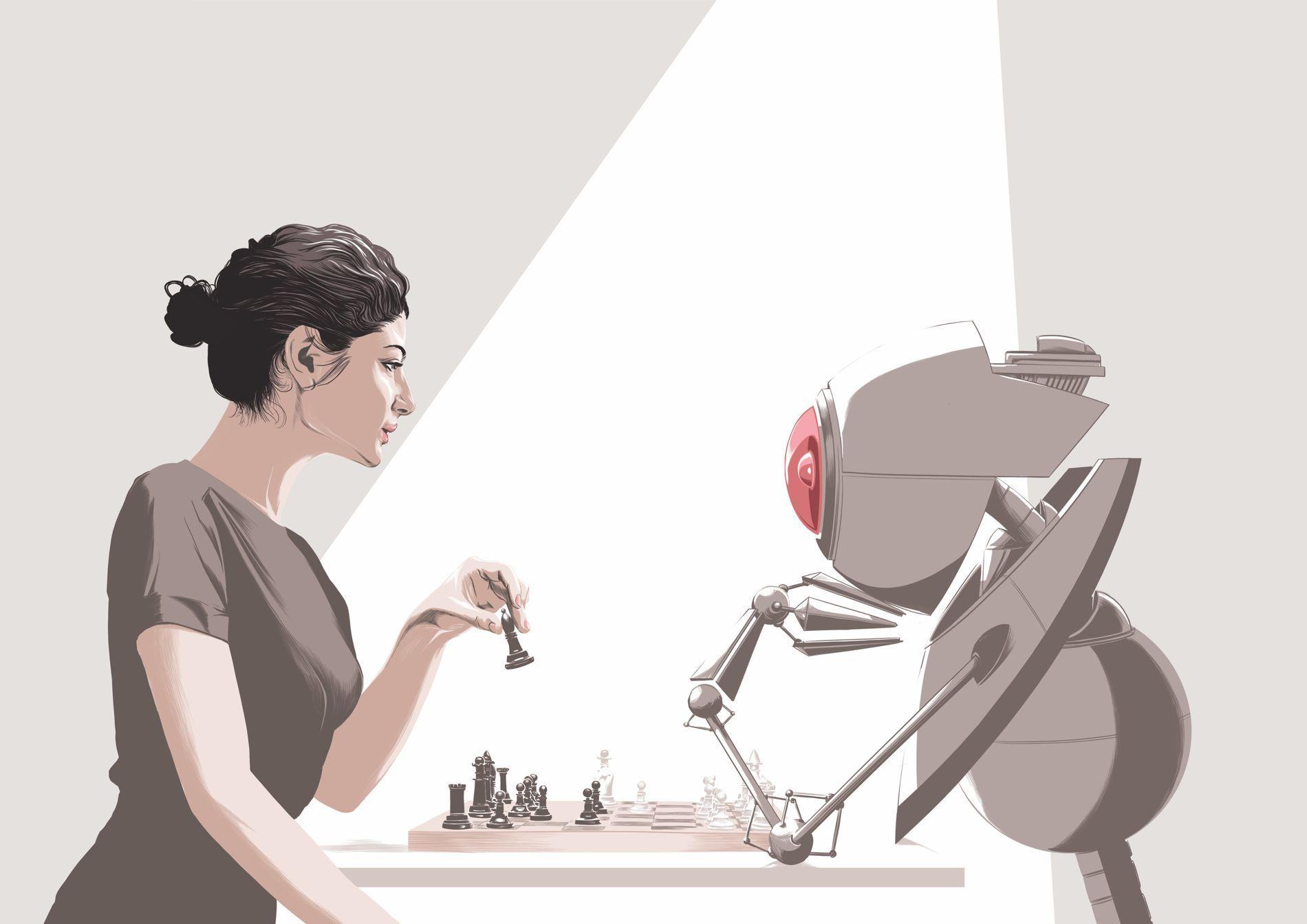 échecs homme machine