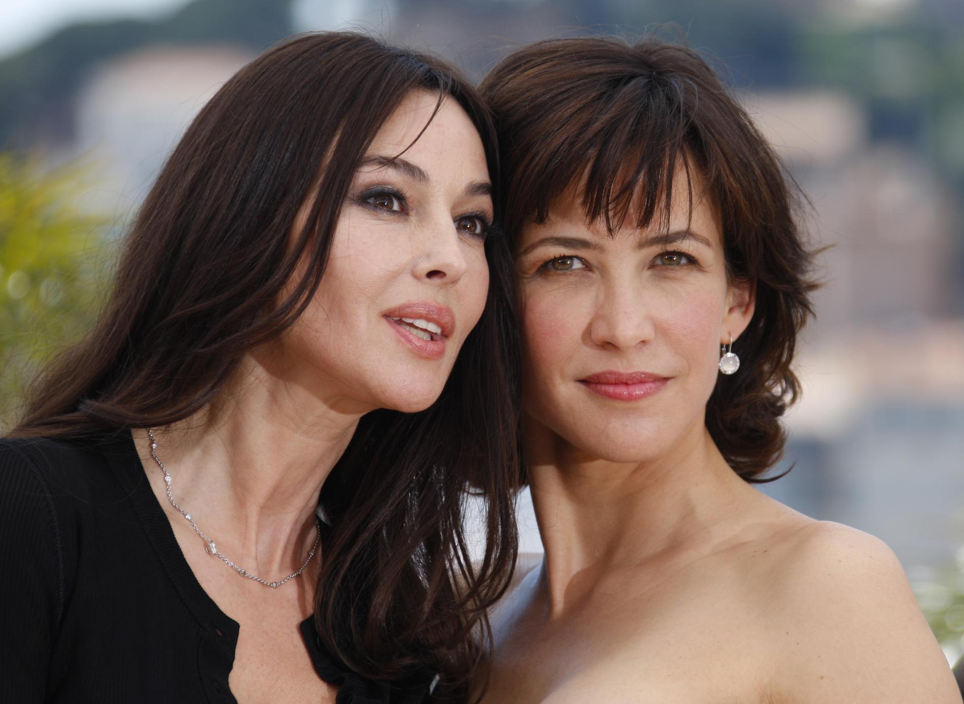 Monica Bellucci and Sophie Marseau