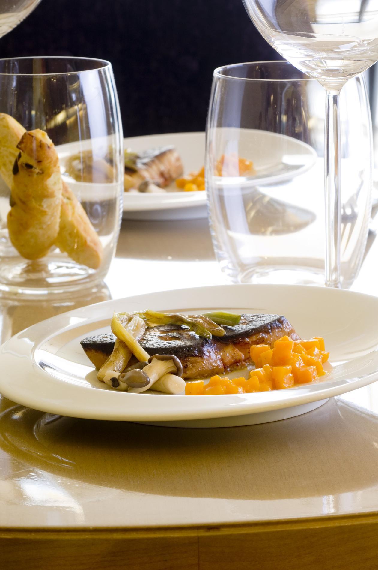 Recette foie gras po l potimarron en risotto cuisine - Recette du foie gras ...