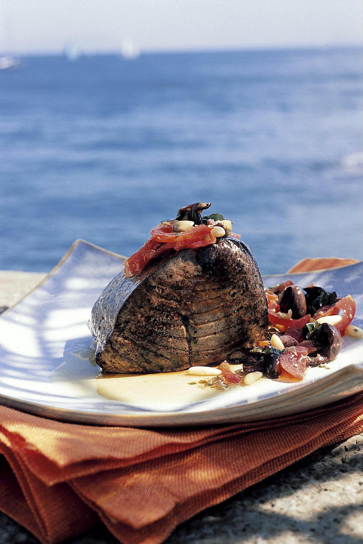 Recette Thon à La Méditerranéenne Cuisine Madame Figaro - Cuisiner le thon