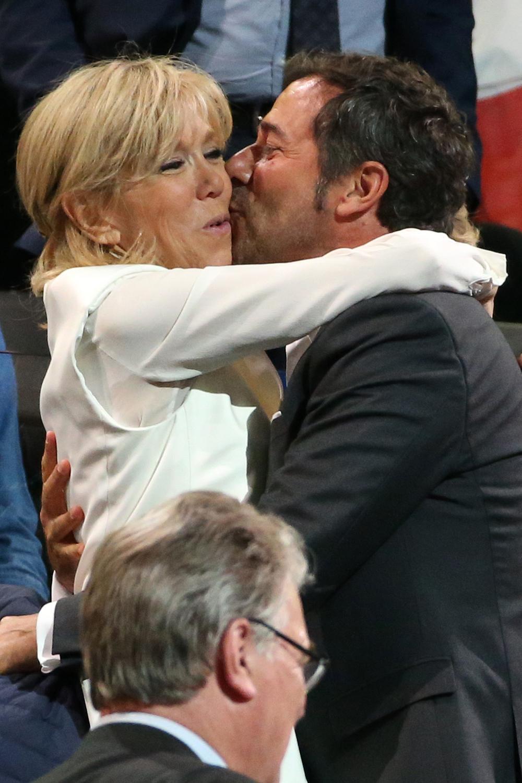 L 39 entourage people de brigitte macron madame figaro - Bernard montiel son compagnon ...