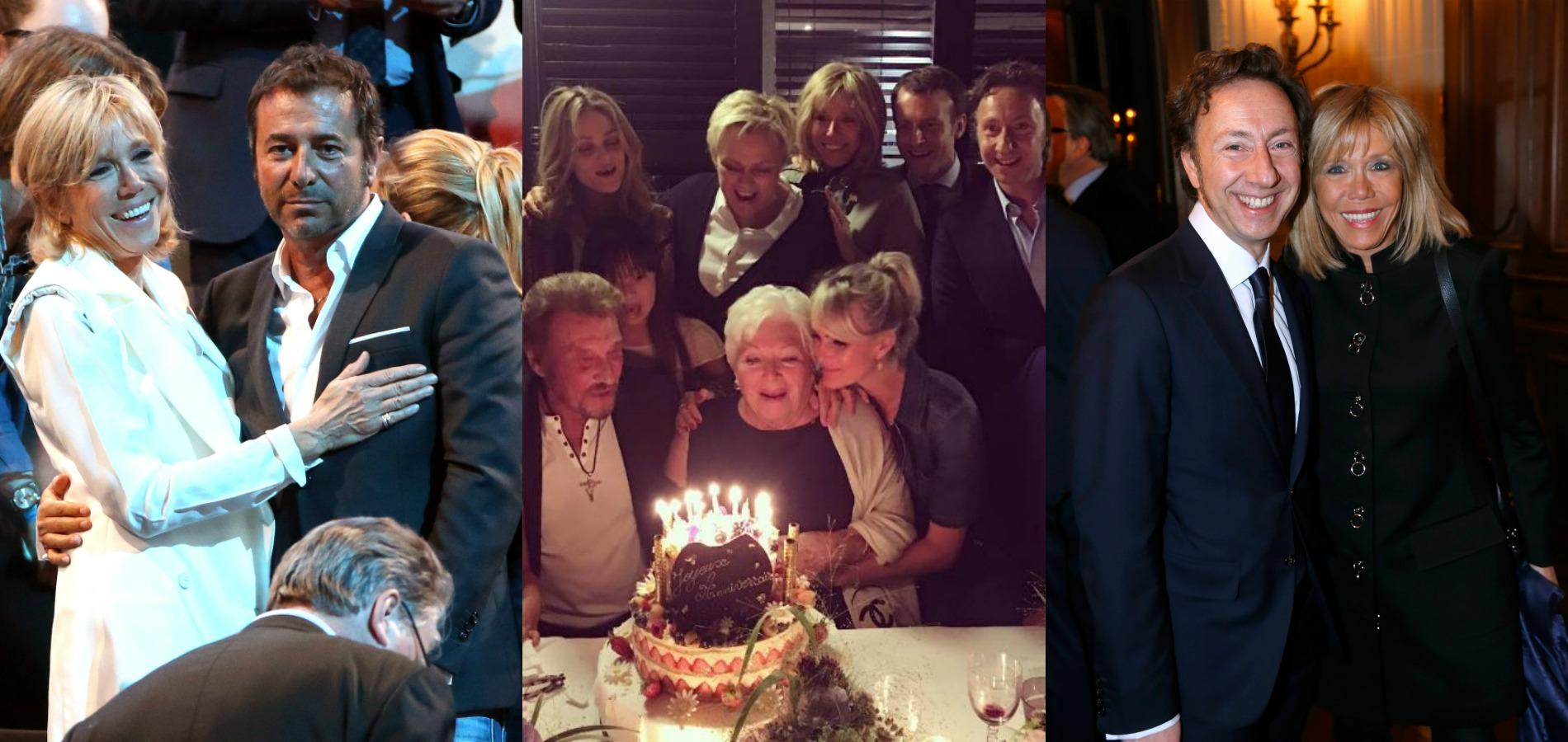 L 39 entourage people de brigitte macron madame figaro - Bernard montiel et sa compagne ...