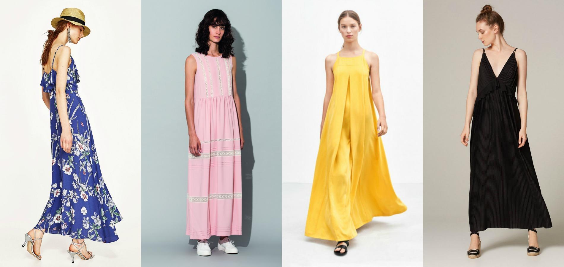Comment porter une robe longue quand on est petite madame figaro - Quand commence les soldes d ete 2017 ...