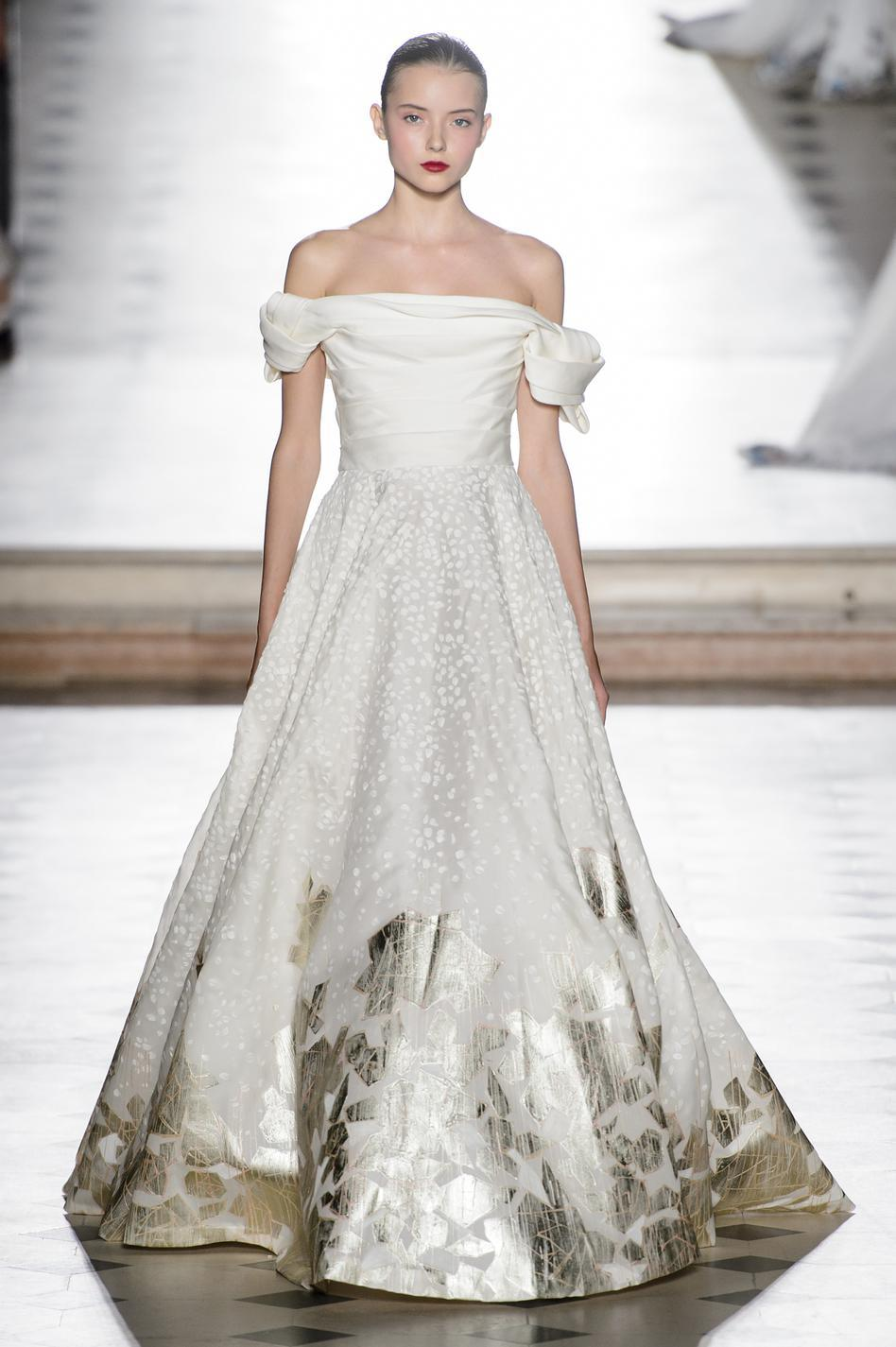 Haute couture 2018  les plus belles robes de mariée , Tony Ward