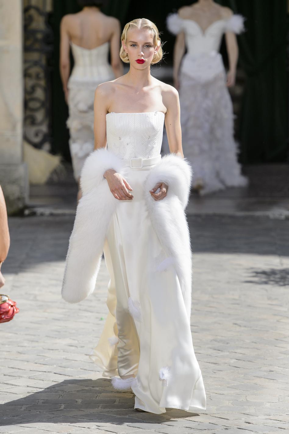 Haute couture 2018  les plus belles robes de mariée , Ulyana Sergeenko