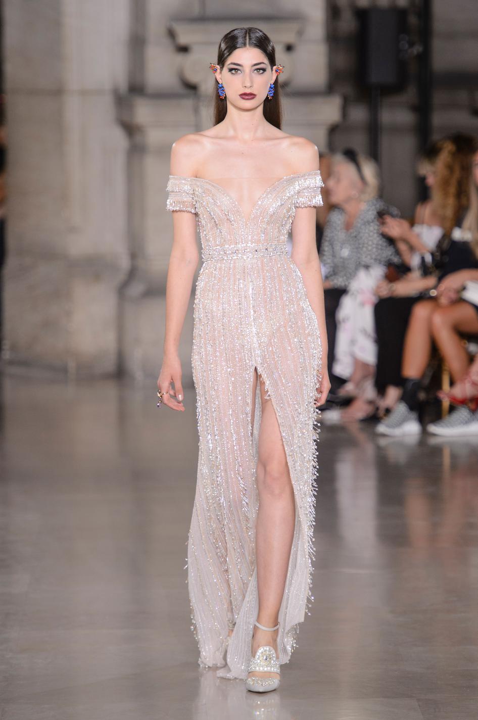 Dior chanel elie saab les robes du soir ont encore for Couture de reve